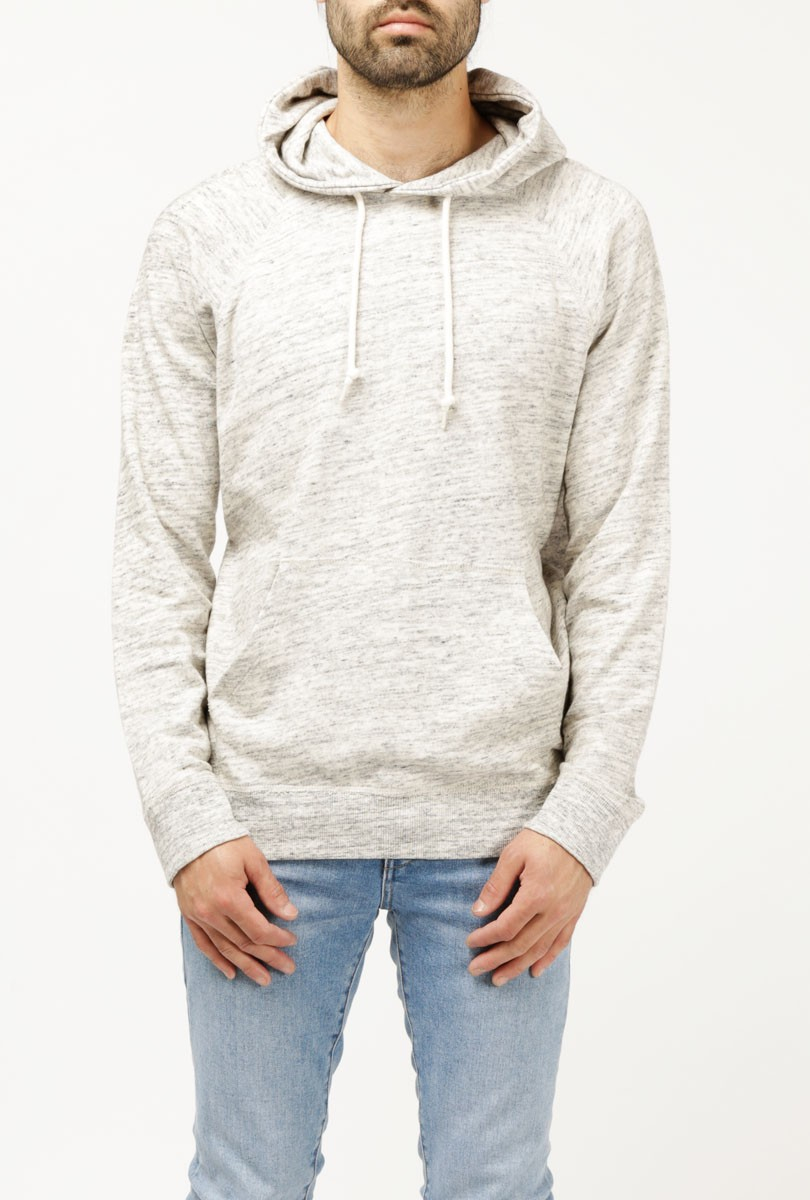 obey monument terry pullover in white for men oatmeal lyst. Black Bedroom Furniture Sets. Home Design Ideas