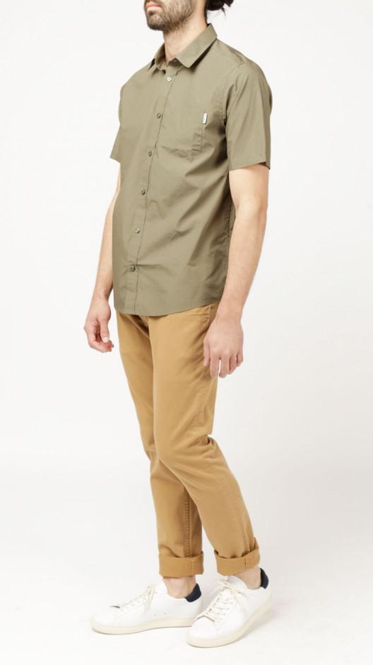 Carhartt Wip S S Wesley Shirt In Green For Men Lyst
