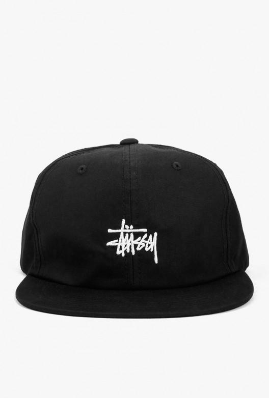 8a68b7050106 Stussy Saturn Strapback Hat in Black for Men - Lyst
