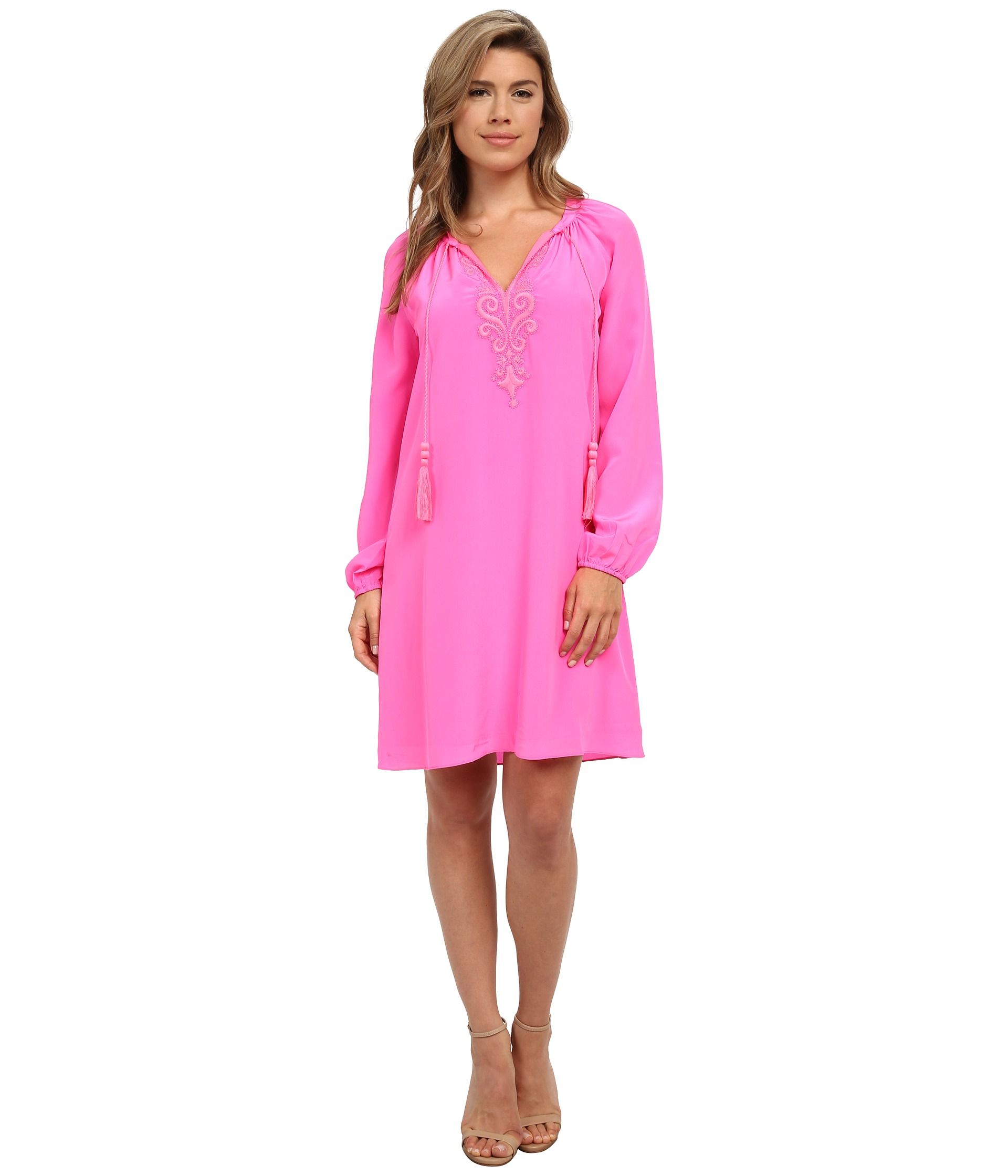 Lilly pulitzer Roslyn Tunic Dress in Pink | Lyst