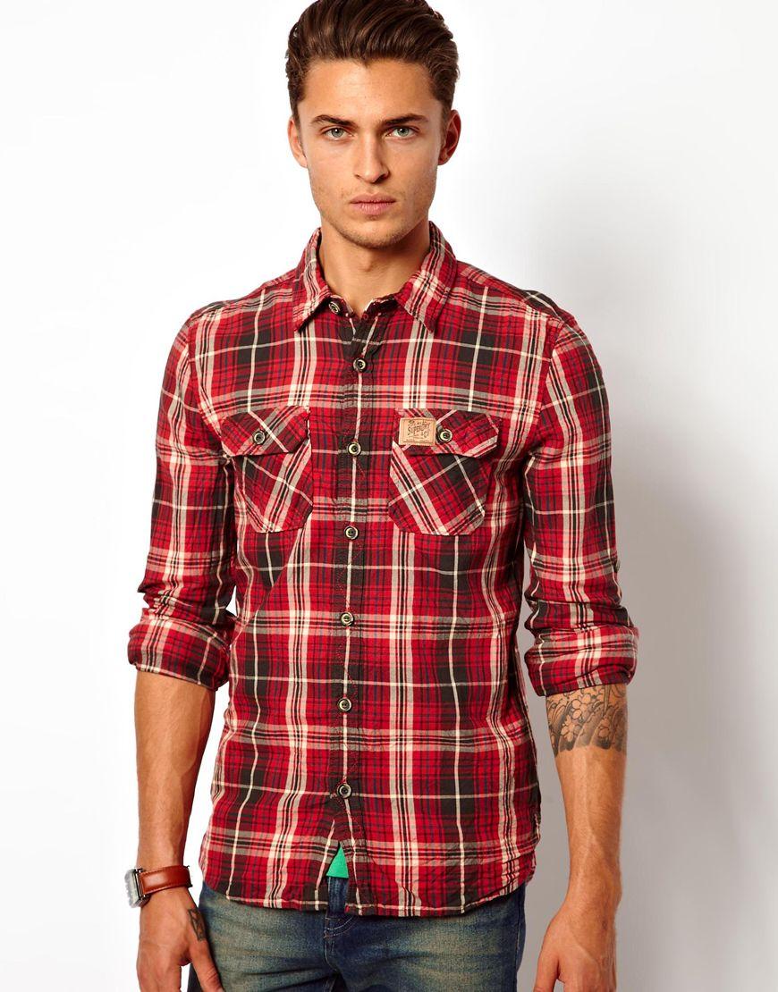 Superdry Lumberjack Shirt in Red for Men ...