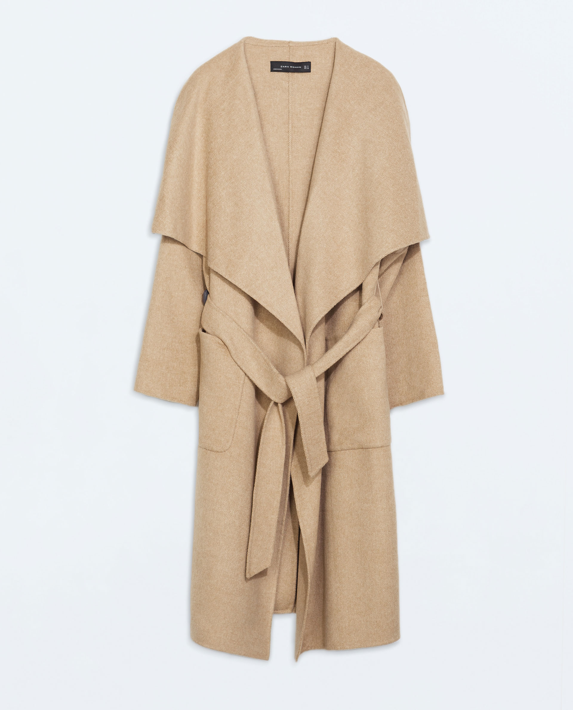Color Trends Spring 2017 Zara Long Coat In Natural Lyst