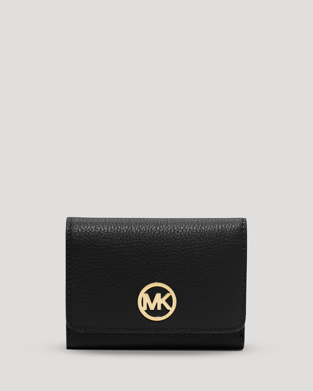 Michael Michael Kors Wallet Fulton Medium Tri Fold In
