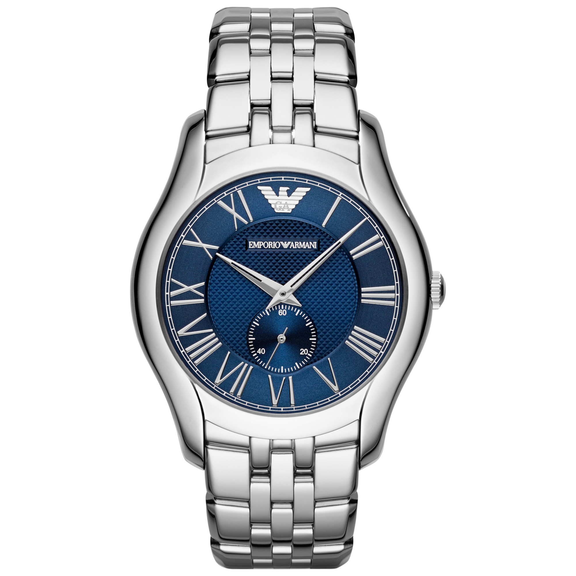 Emporio Armani Ar1789 Mens Bracelet Watch In Metallic For