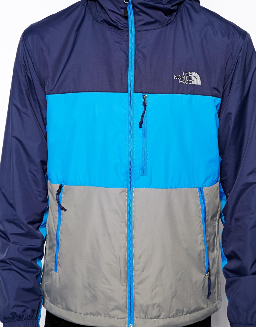 c83e623ab8e8 ... switzerland lyst the north face atmosphere jacket in blue for men 37849  3d798