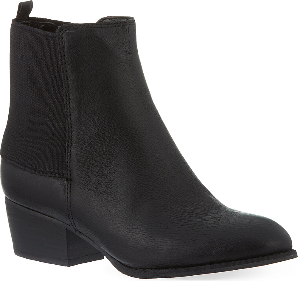 Nine West Käsilaukku : Nine west jerryrig leather ankle boots in black lyst