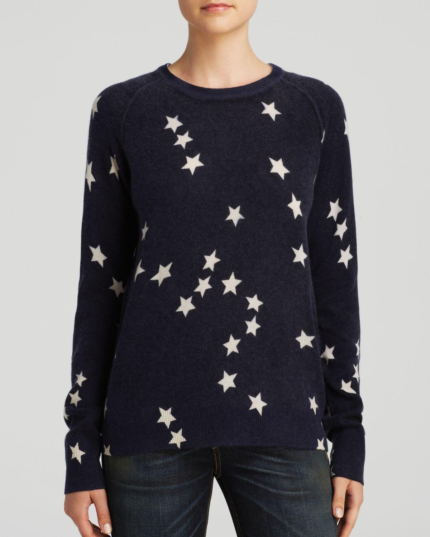Equipment Sweater - Sloane Crewneck Fallen Star Print Cashmere in ...