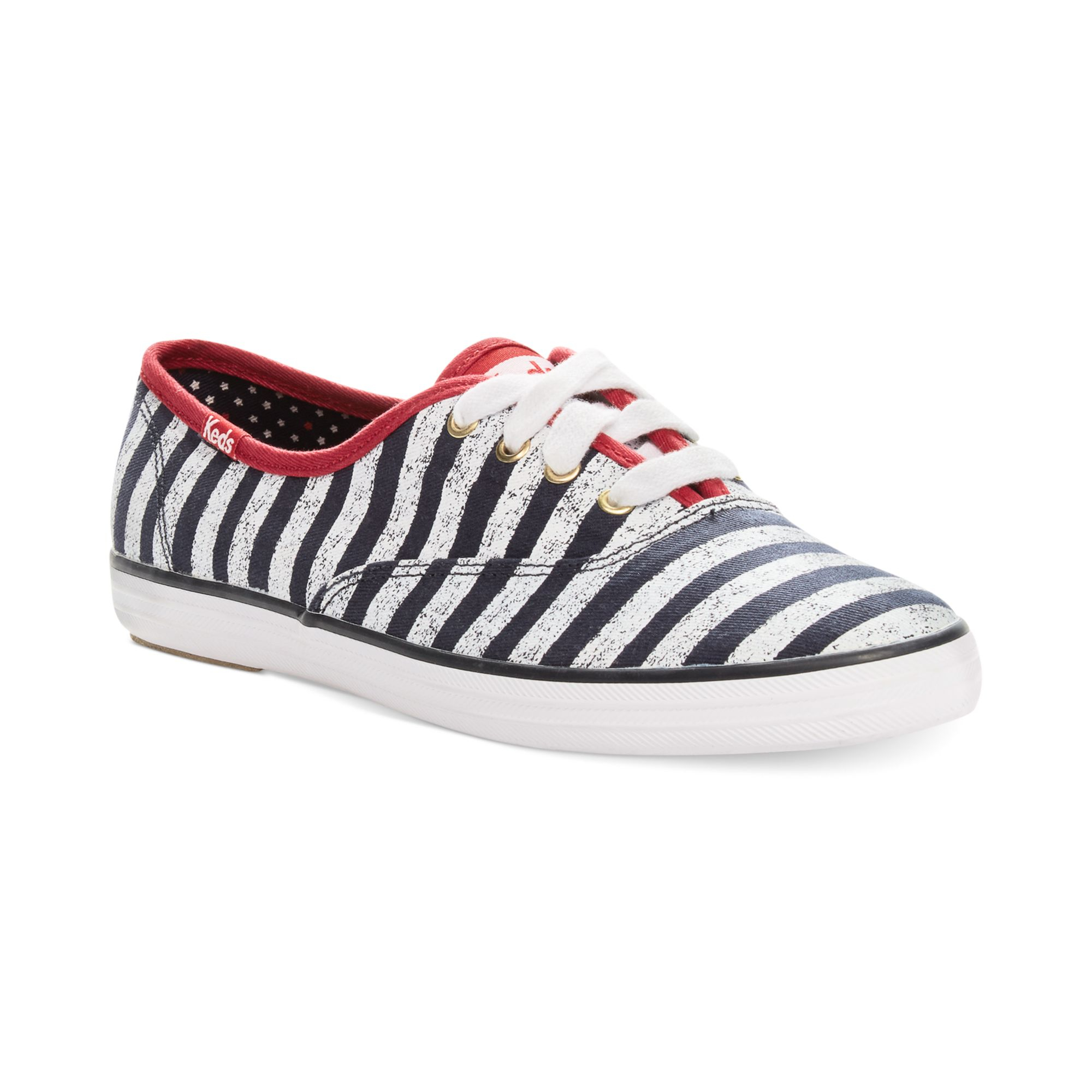 Keds Champion Patriotic Stripes Sneakers in Blue