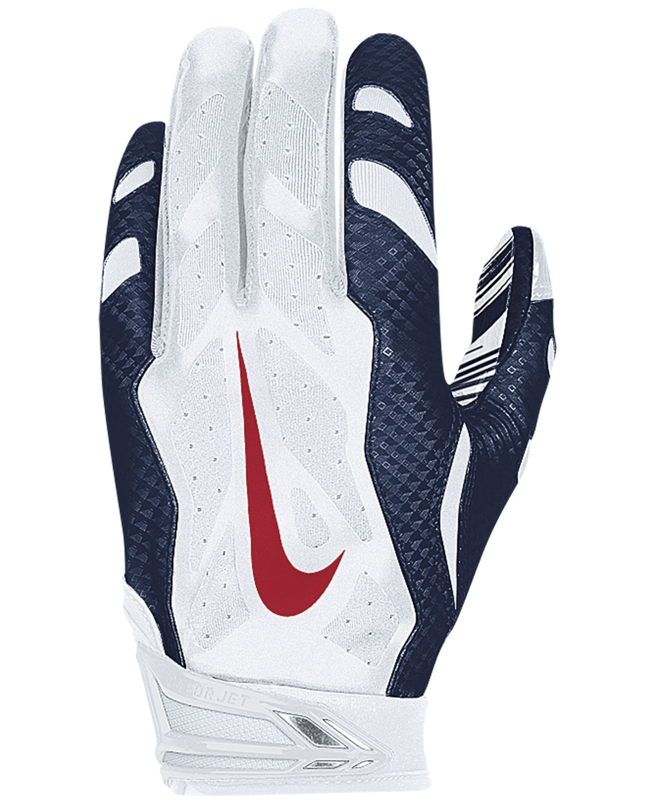 newest 8214f de5cb Men's Blue New England Patriots 30 Vapor Jet Gloves