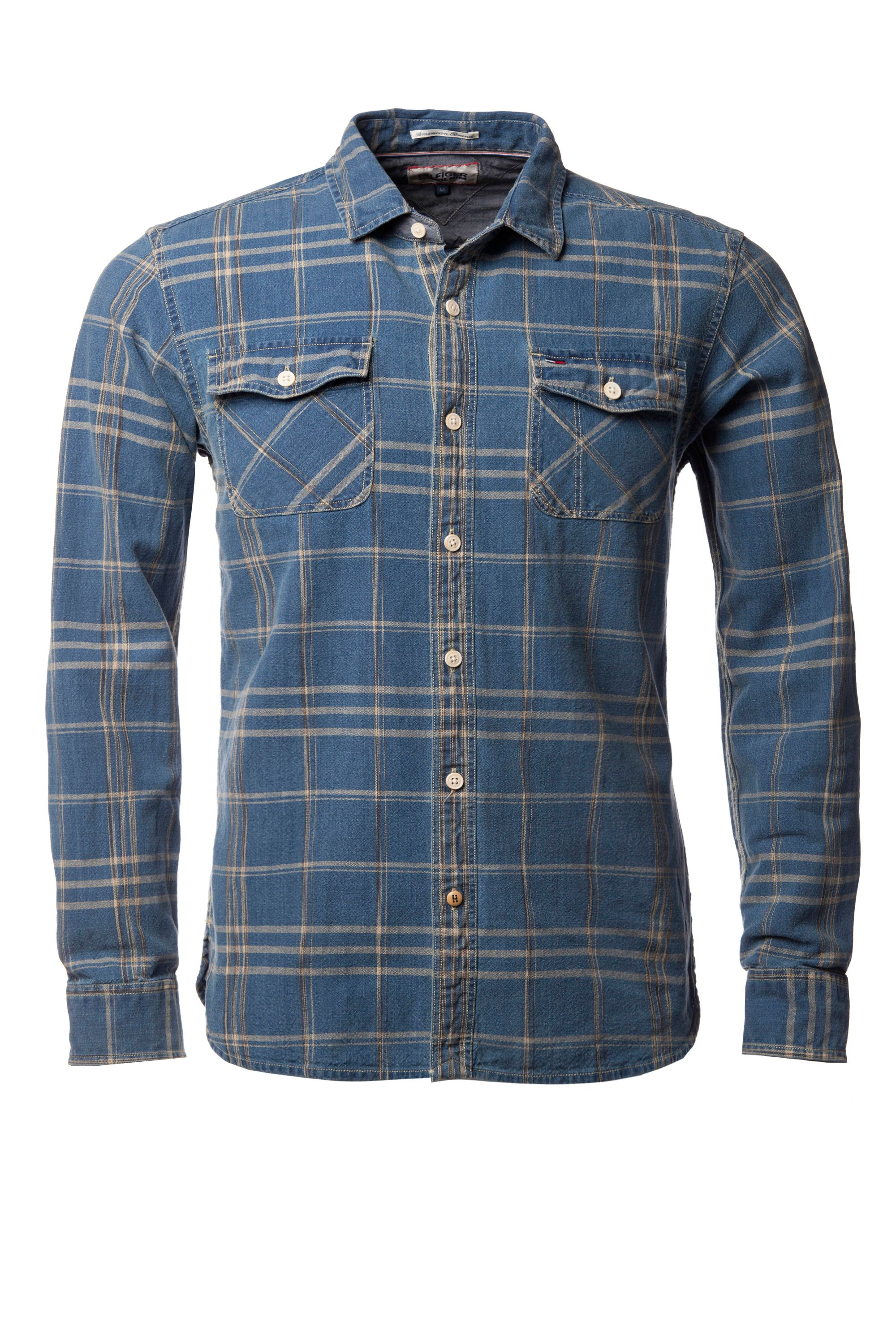 Tommy Hilfiger Norwich Check Slim Fit Long Sleeve Shirt In