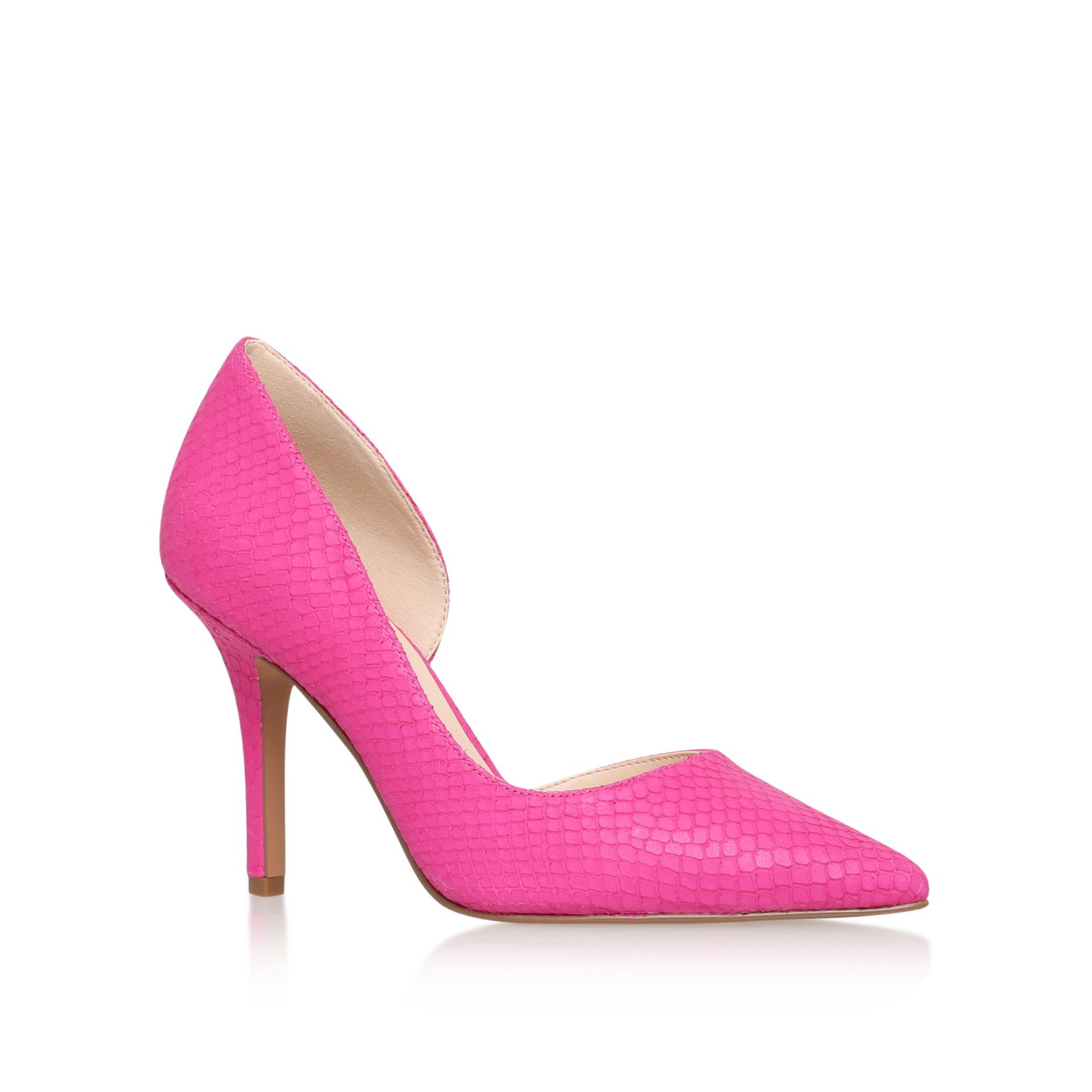 nine west jia high heel court shoes in pink lyst
