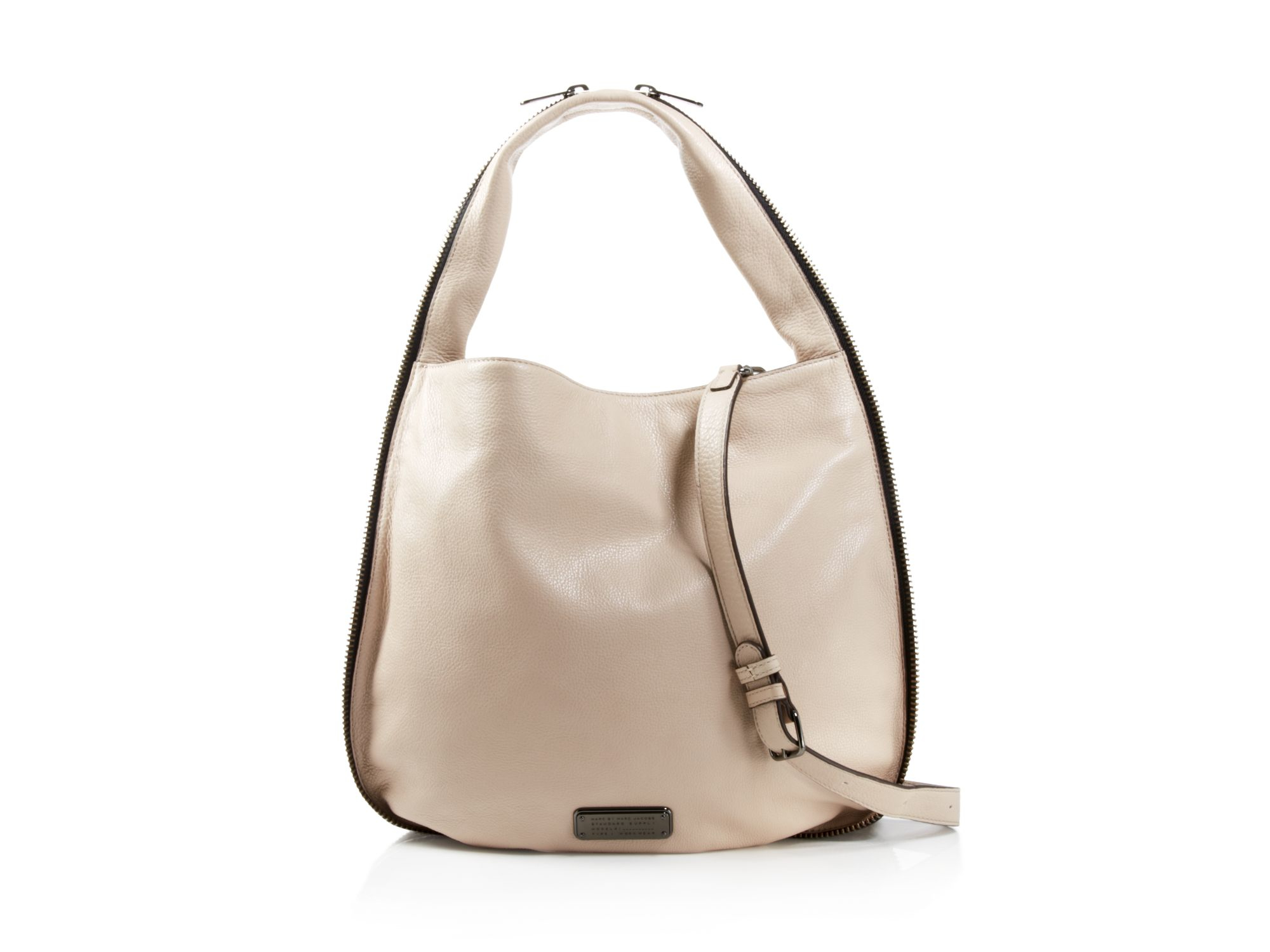Marc By Marc Jacobs New Q Zippers Hillier Embossed Hobo Lyst