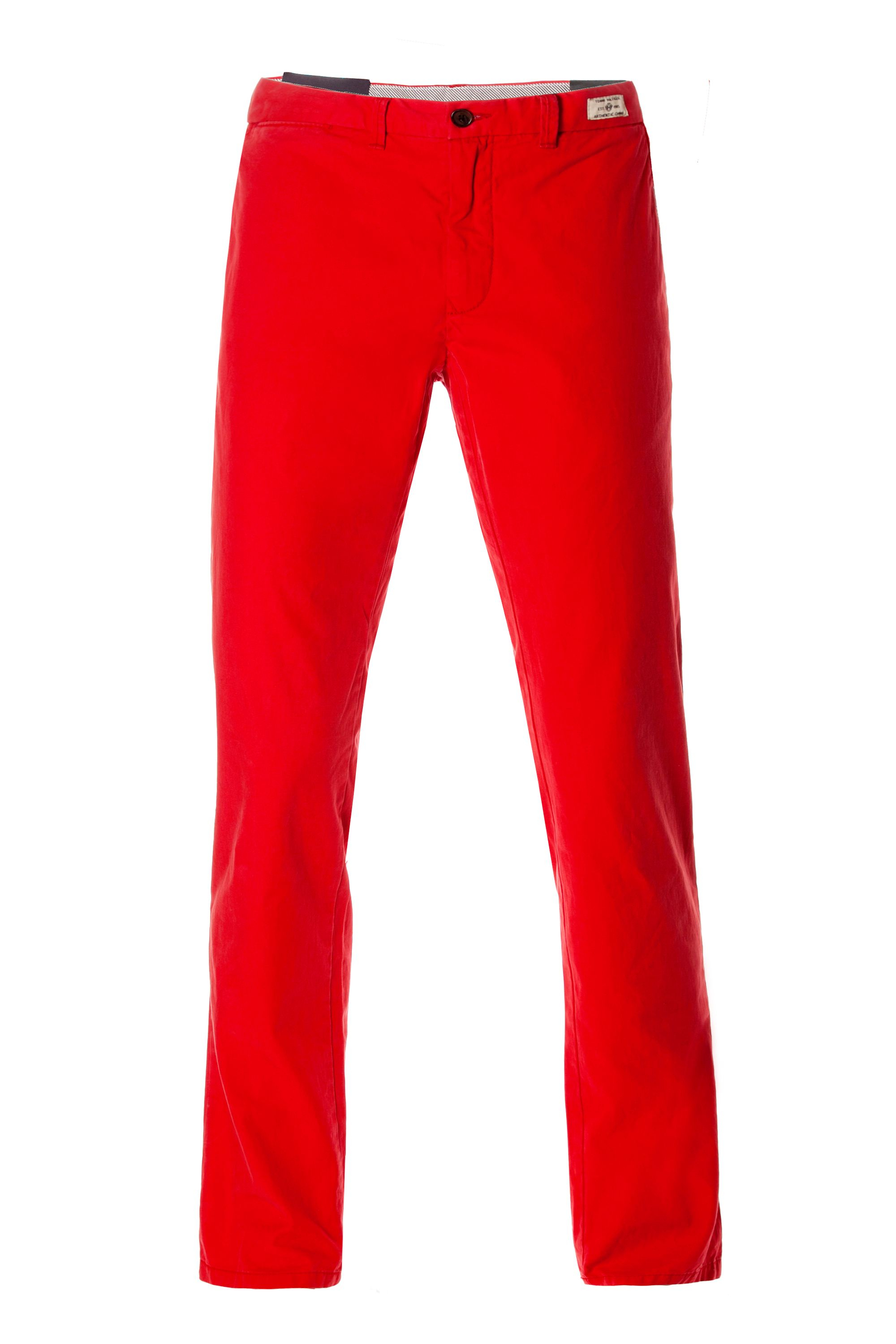 tommy hilfiger mercer chino boston twill in red for men lyst. Black Bedroom Furniture Sets. Home Design Ideas