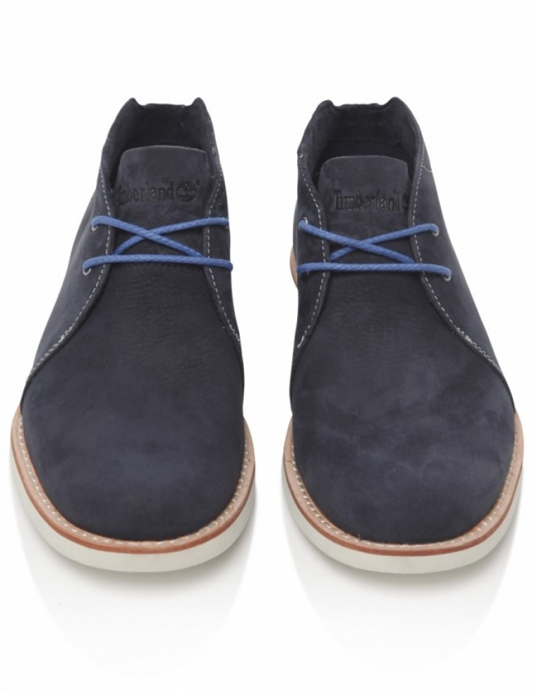Timberland Stormbuck Chukka Boots In Blue For Men Lyst