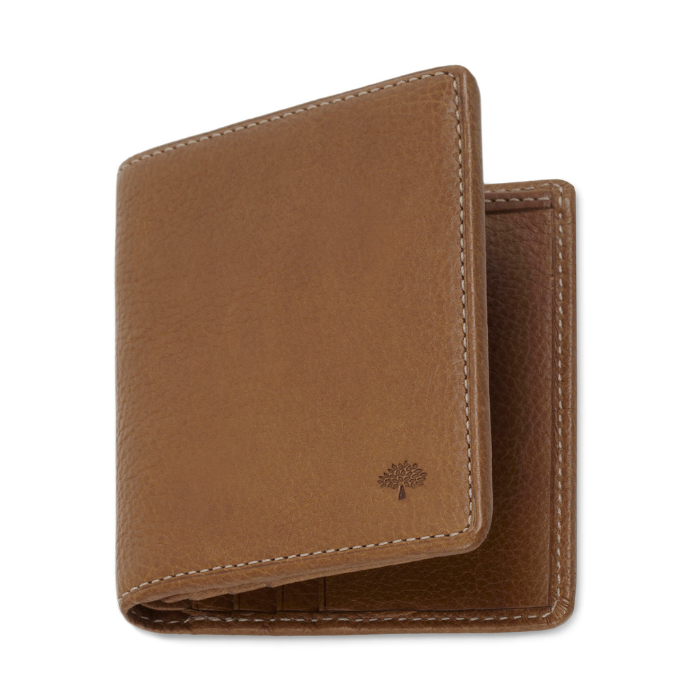 84ff8ce4e8e2 ... sweden mulberry mini tri fold wallet in brown for men lyst 4bcd6 77716