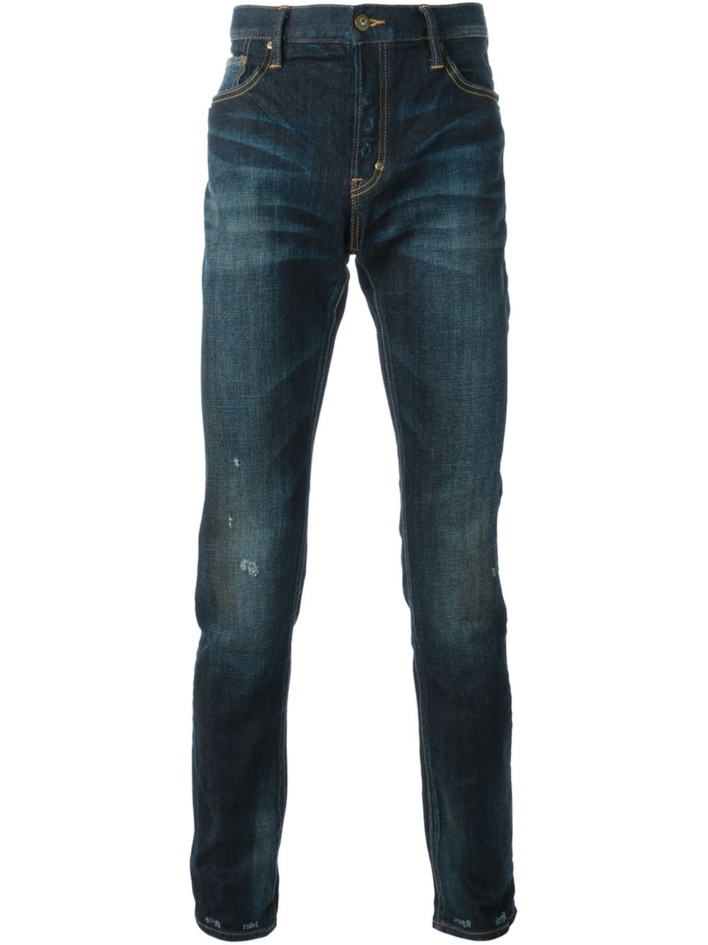 PRPS 'Swinger Easy Pant' Distressed Jeans in Blue for Men