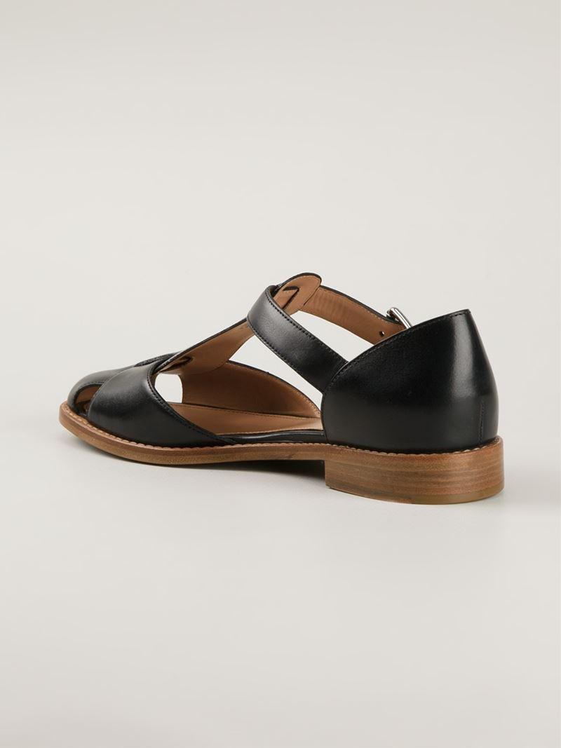 bdb5e5ca4443 Lyst - Church s  Kelsey Prestige  Sandals in Black