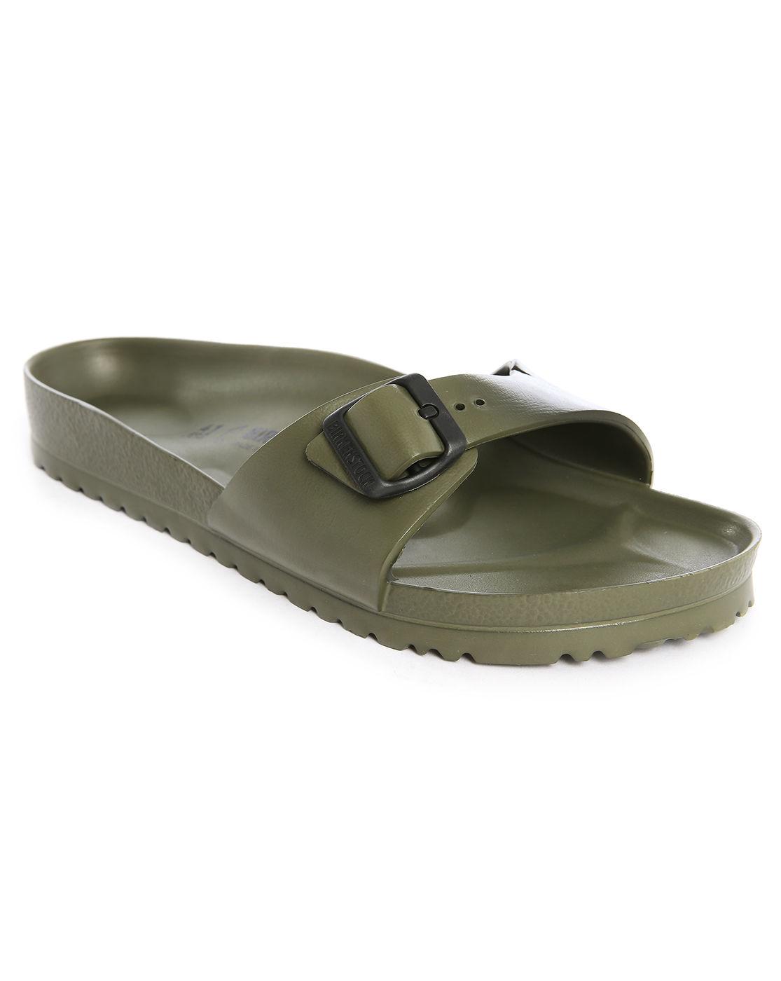birkenstock eva madrid khaki sandals in khaki for men lyst. Black Bedroom Furniture Sets. Home Design Ideas