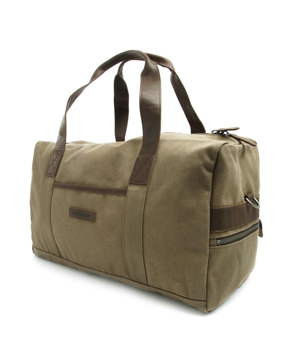 Eastpak Welder Khaki Weekend Bag in Khaki for Men