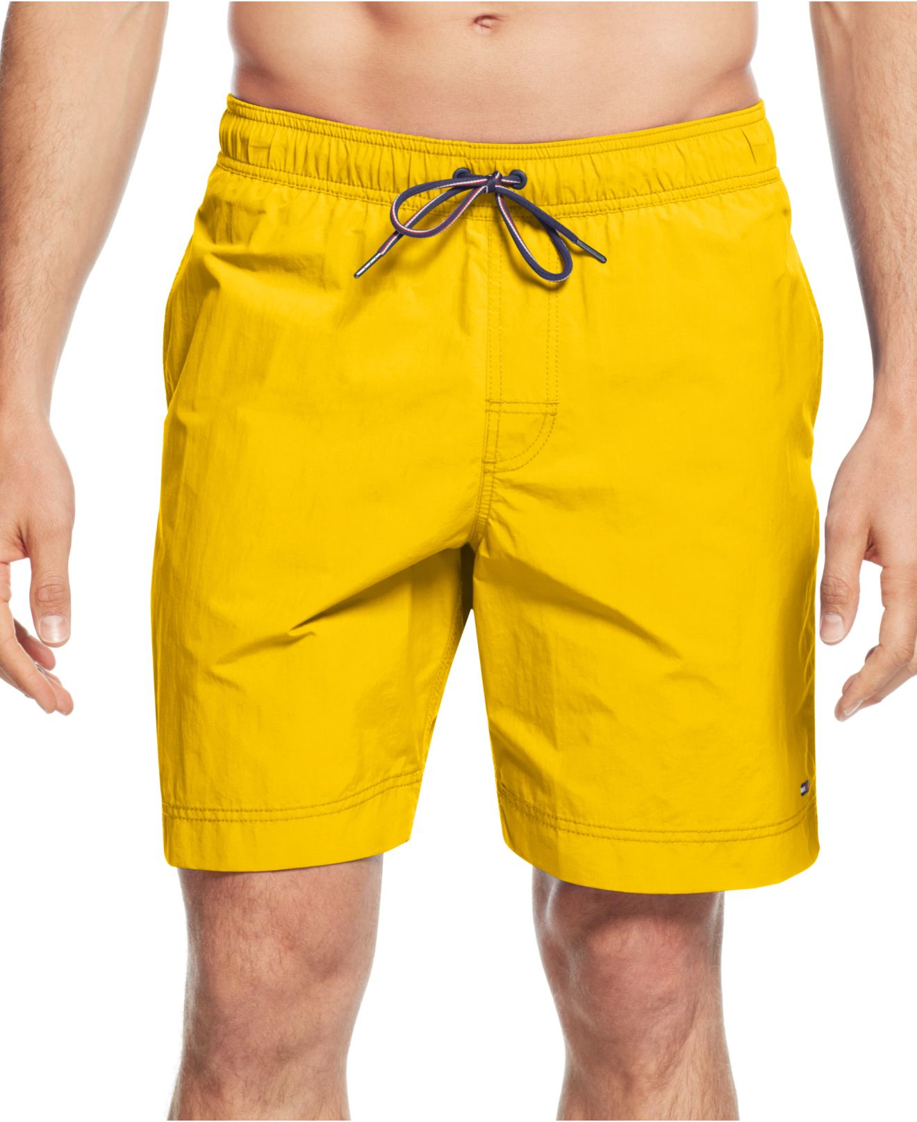 c4729acd33 Tommy Hilfiger Tommy Swim Trunks in Yellow for Men - Lyst