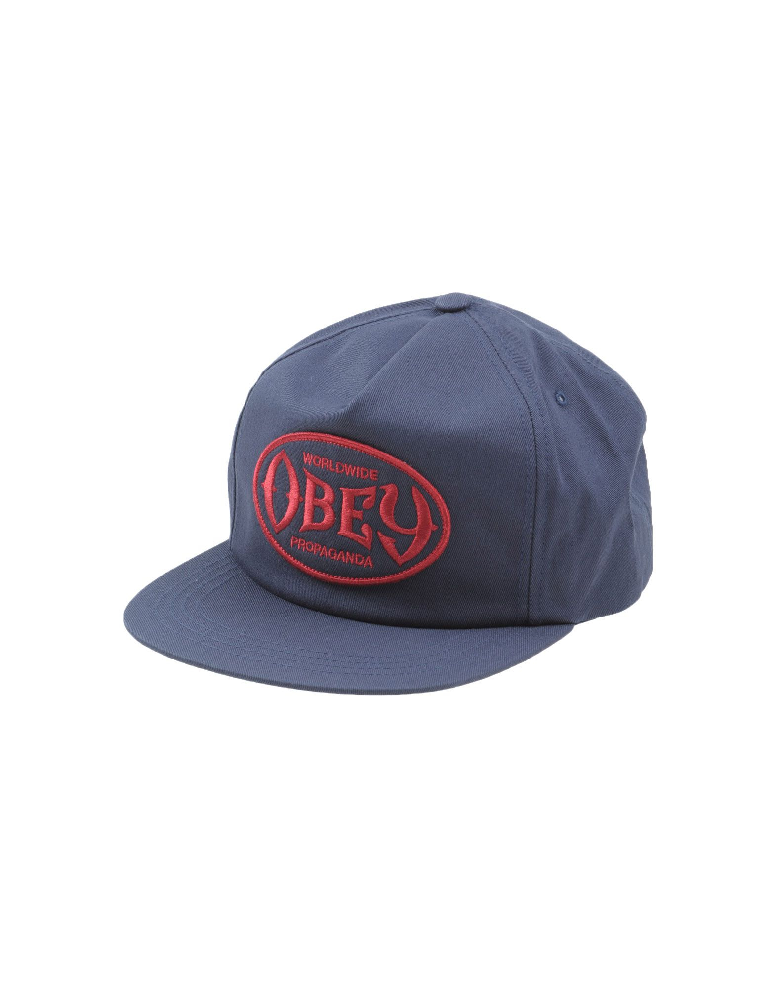 obey hat in blue for blue lyst