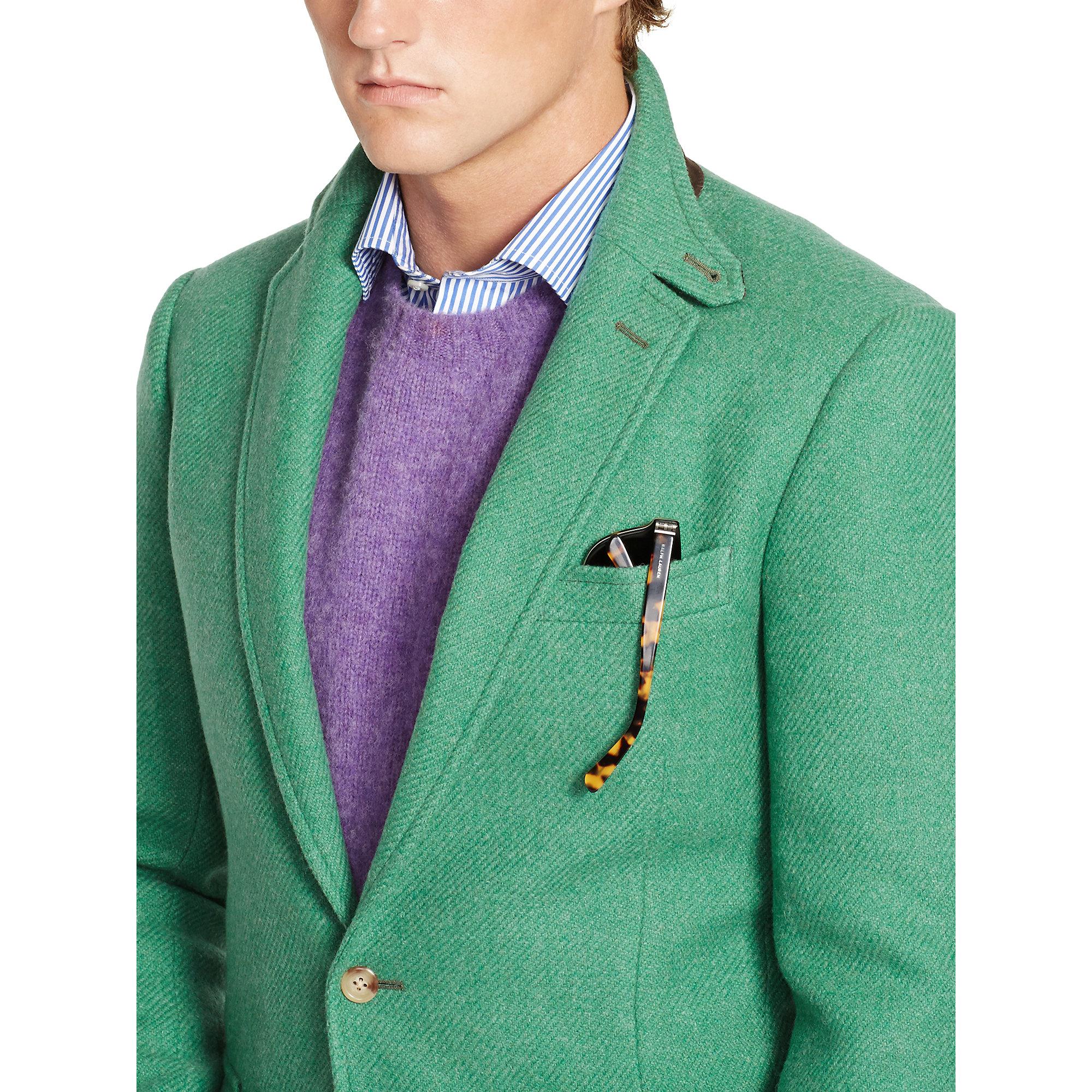 Lyst - Ralph Lauren Bedford Green Sport Coat in Green for Men