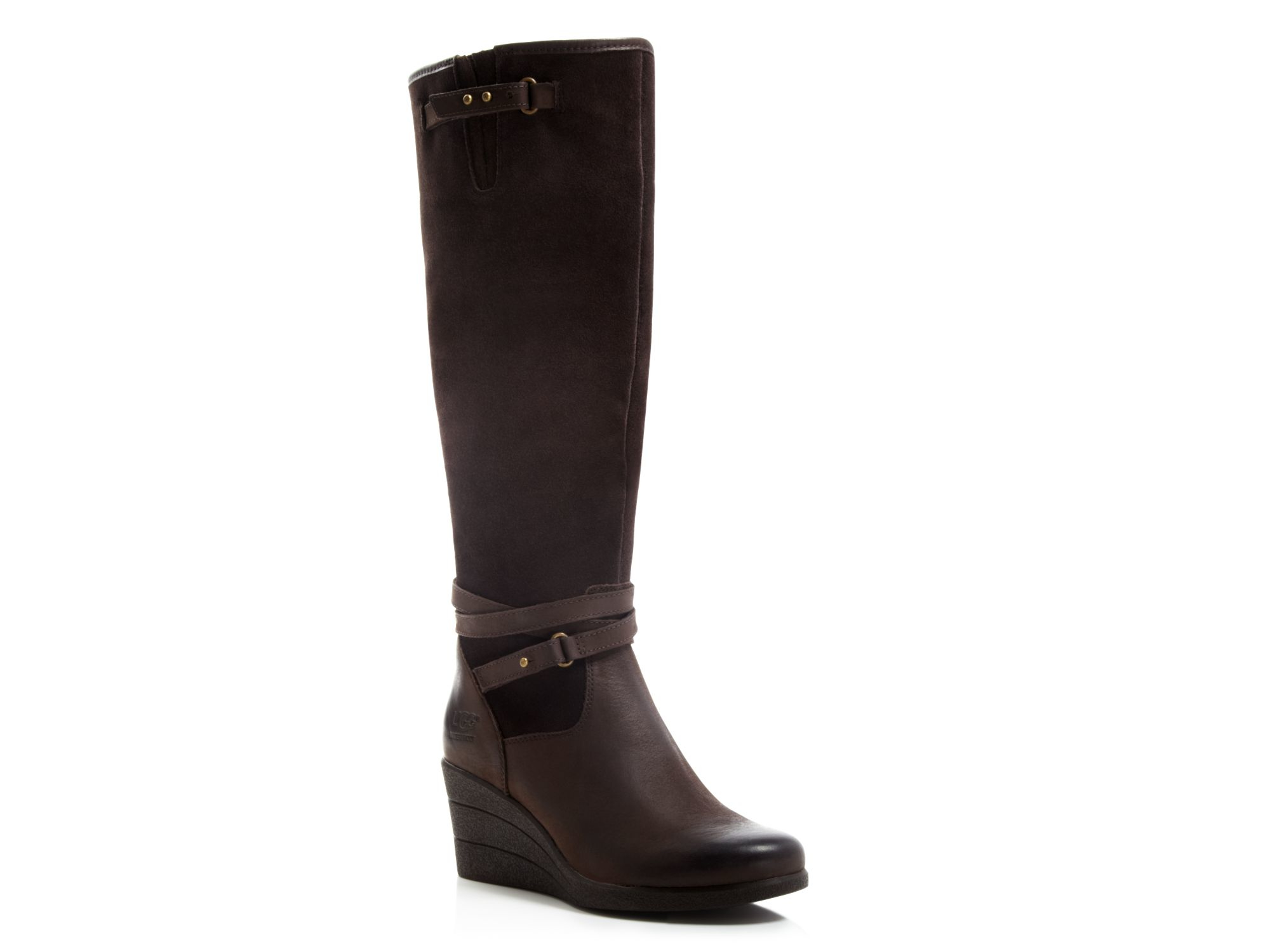 tall chocolate brown uggs