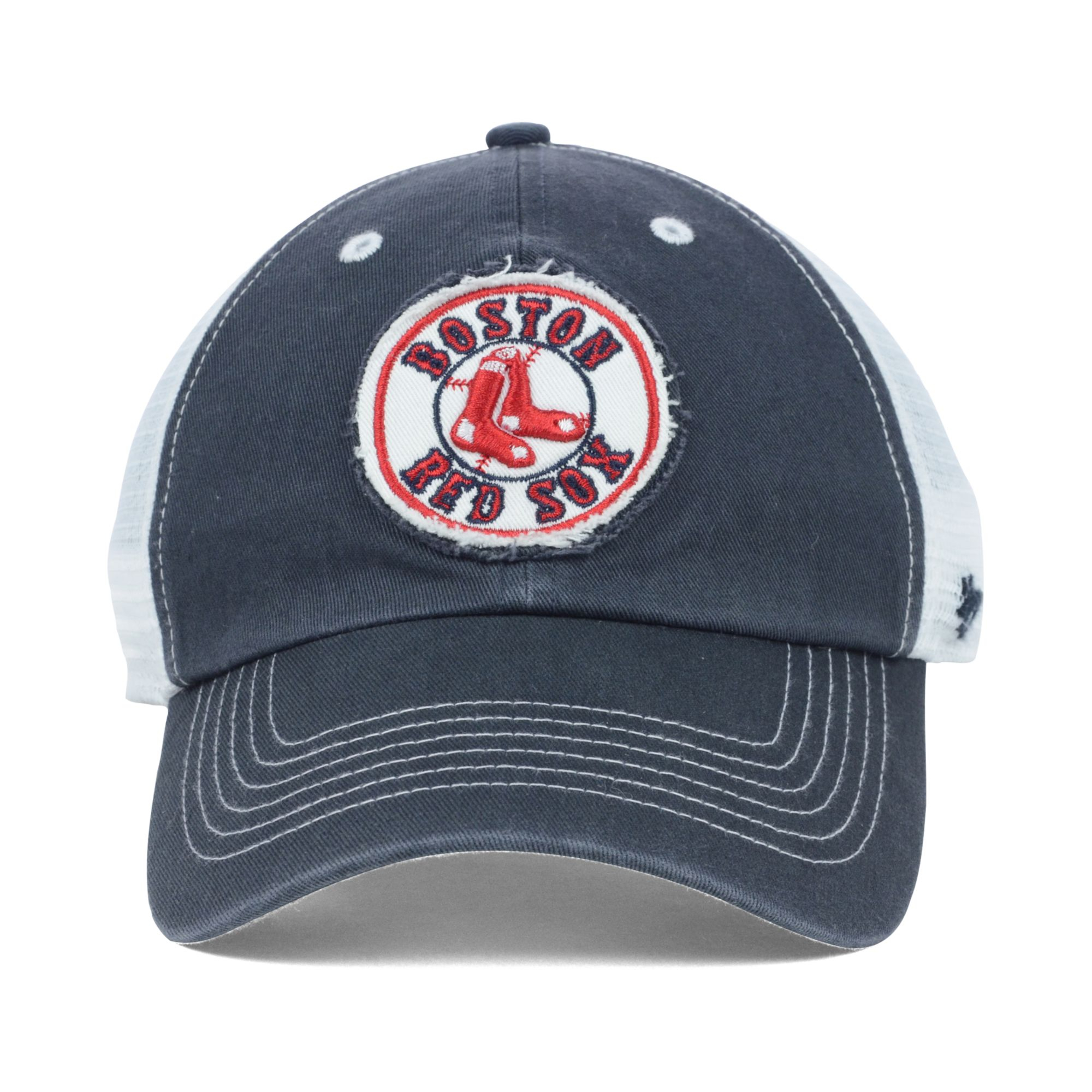 Lyst - 47 Brand Boston Red Sox Blue Mountain Franchise Cap in Blue ... a78f80f0f59