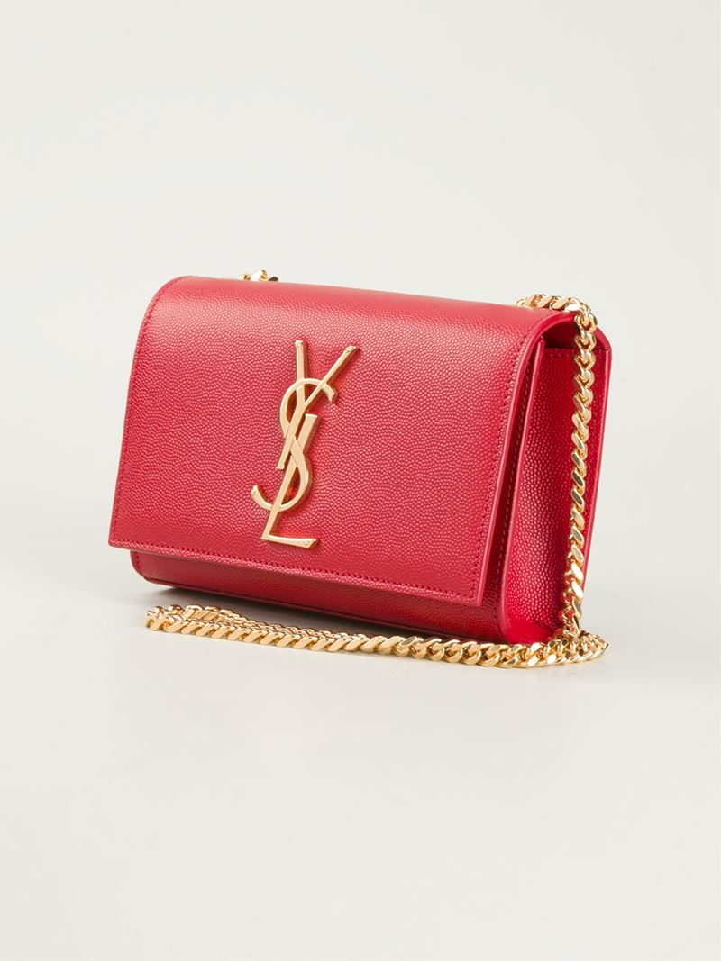 small monogram purse - Red Saint Laurent QnKwx5c