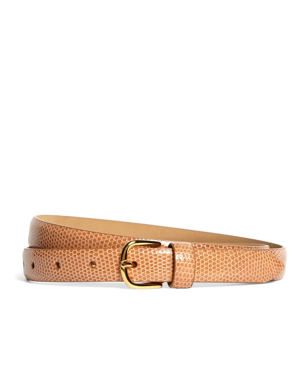 brothers lizard wide belt in orange lyst