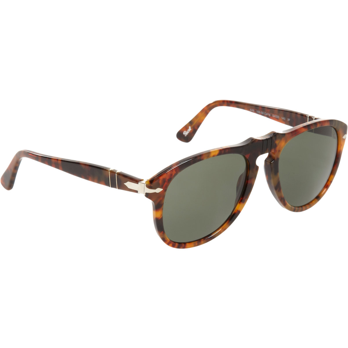 3b8babdc2d60 Persol Round Tortoise Frame Sunglasses in Brown for Men - Lyst