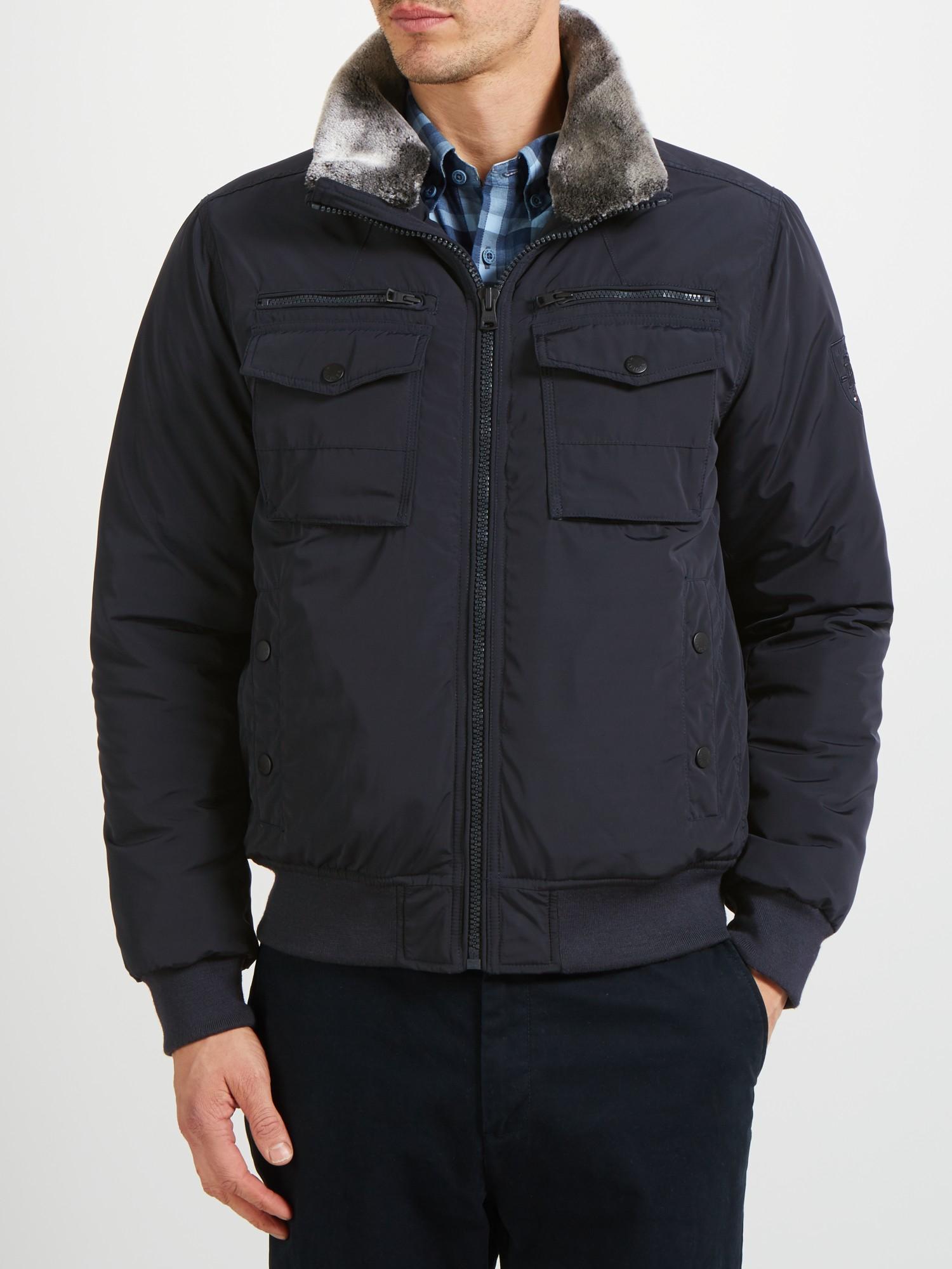 6f53a2667 Tommy Hilfiger New Ken Bomber Jacket in Blue for Men - Lyst