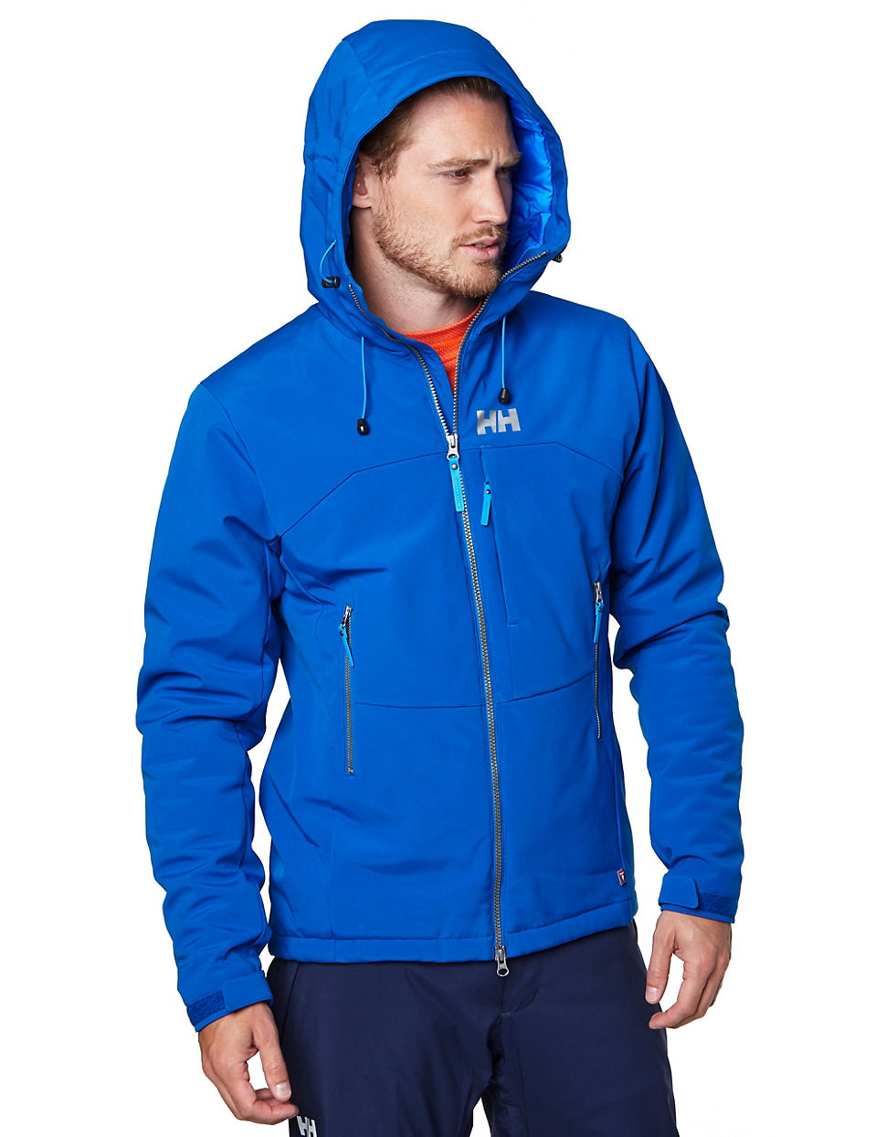 c3e45e2b Helly Hansen Paramount Insulated Softshell Jacket in Blue for Men - Lyst