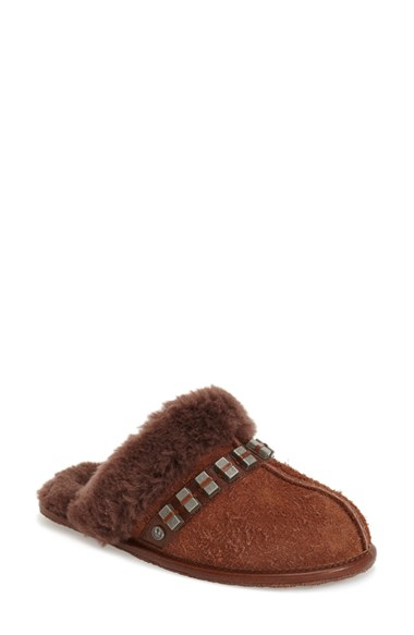 7f930de70e0 UGG Brown Star Wars Chewbacca Suede Slippers