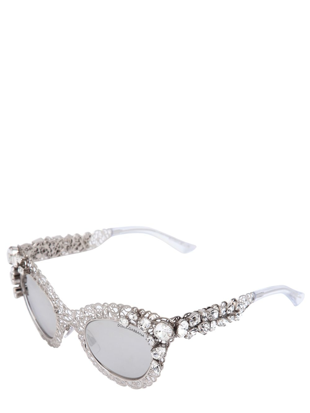 Dolce & Gabbana Eyewear Swarovski embellished sunglasses Outlet How Much Discount Price Where To Buy Low Price qv9E3pB