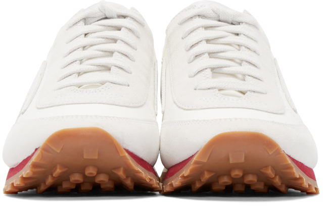 Marc Jacobs Synthetic White Astor Lightning Bolt Sneakers