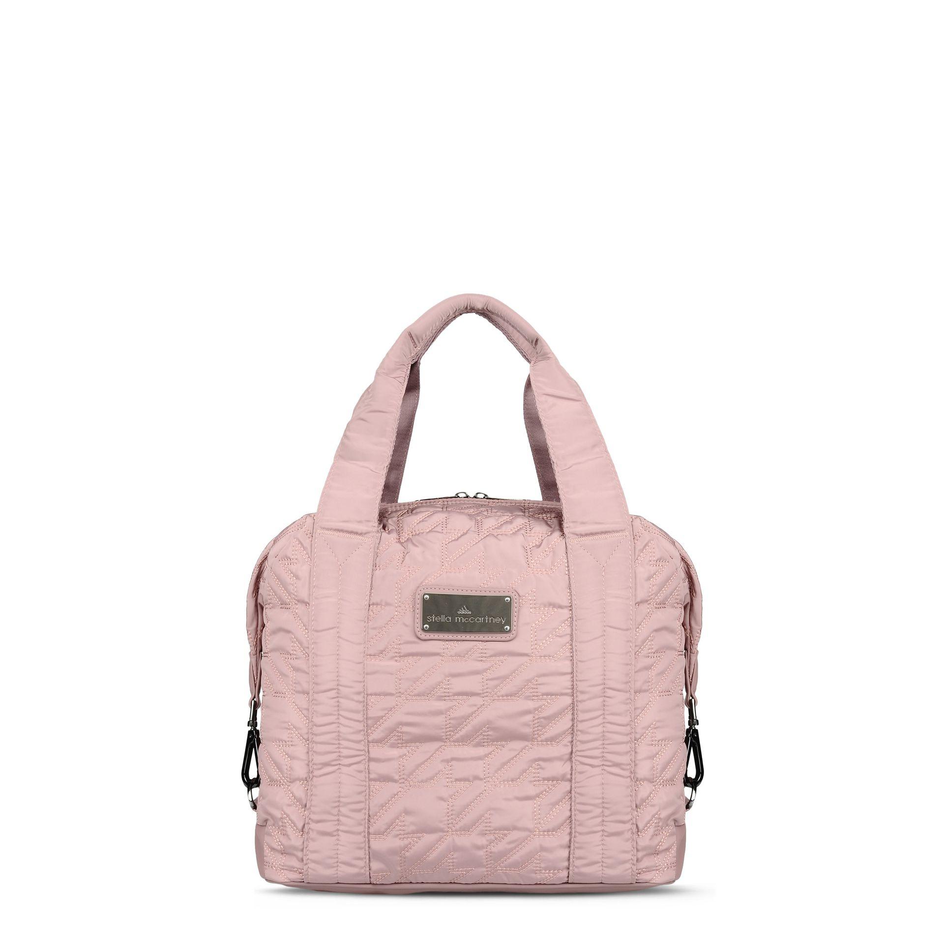 ca96d84a43 adidas By Stella McCartney Small Gym Bag in Gray - Lyst