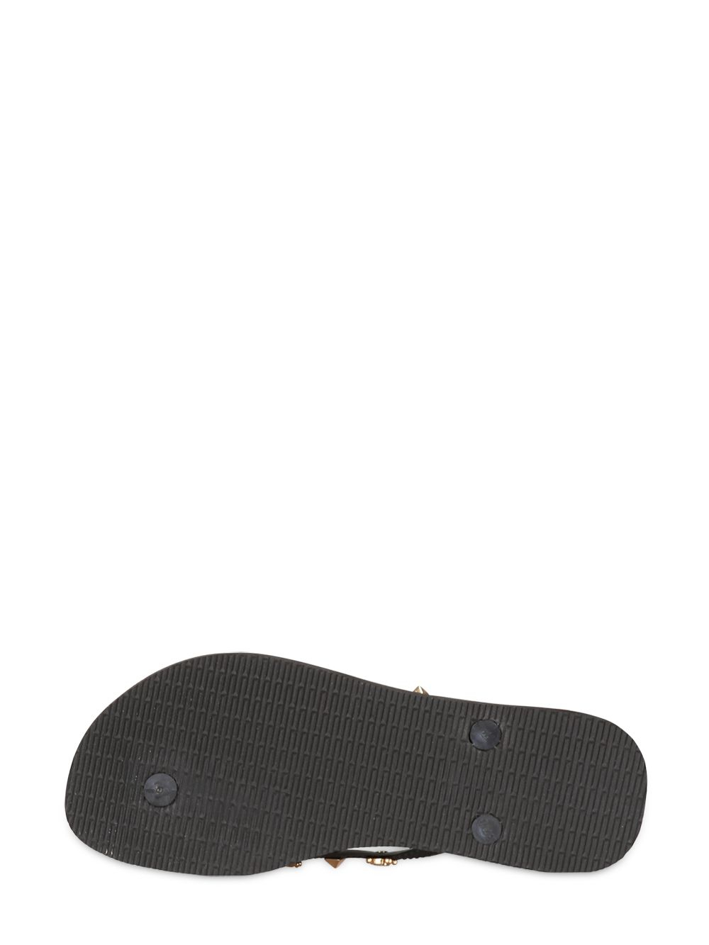 Havaianas Slim Hardware Skull Studs Flip Flop In Black For -5108