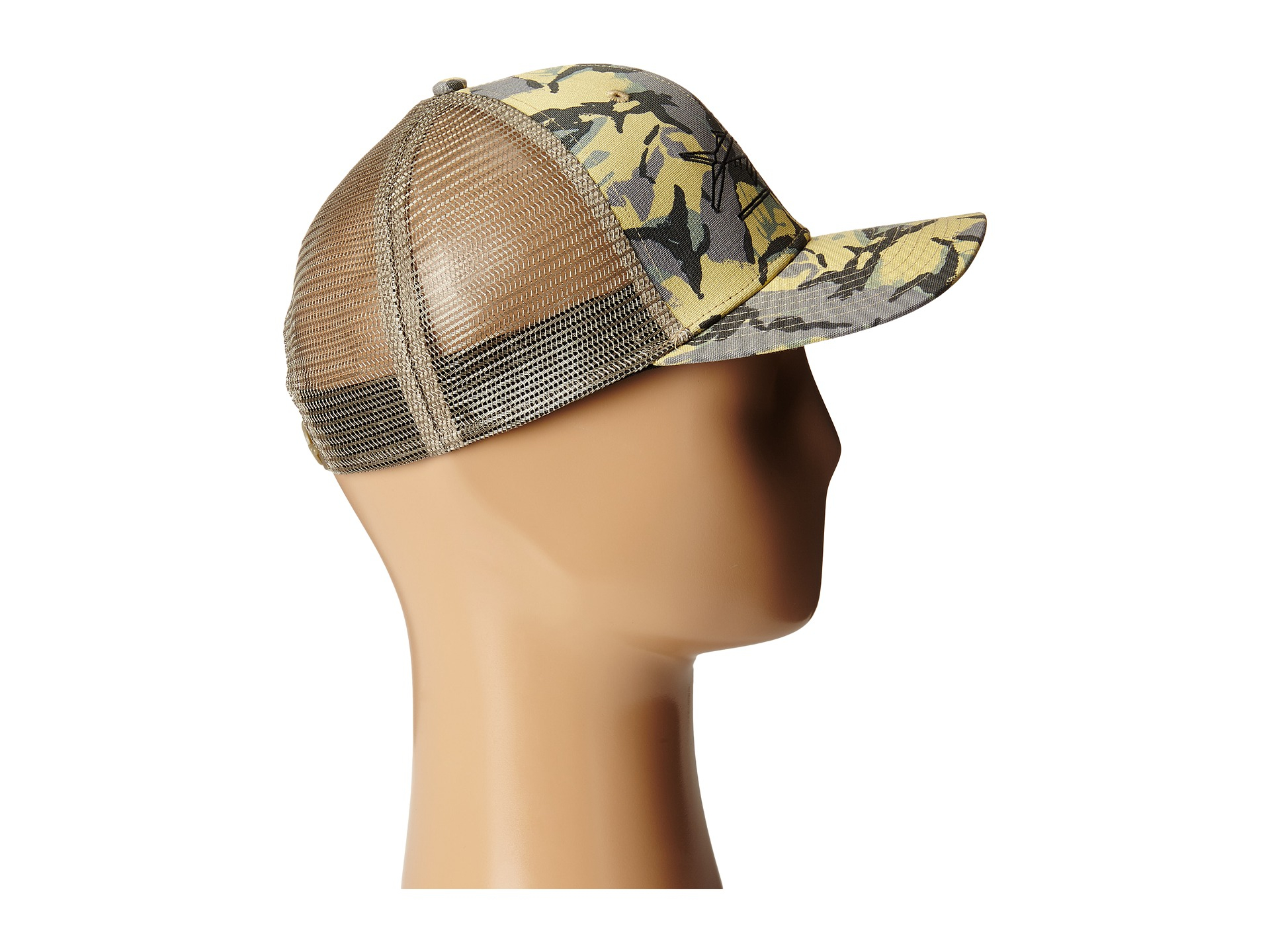 acace212a4f4e Patagonia Geodesic Flying Fish Trucker Hat in Green for Men - Lyst