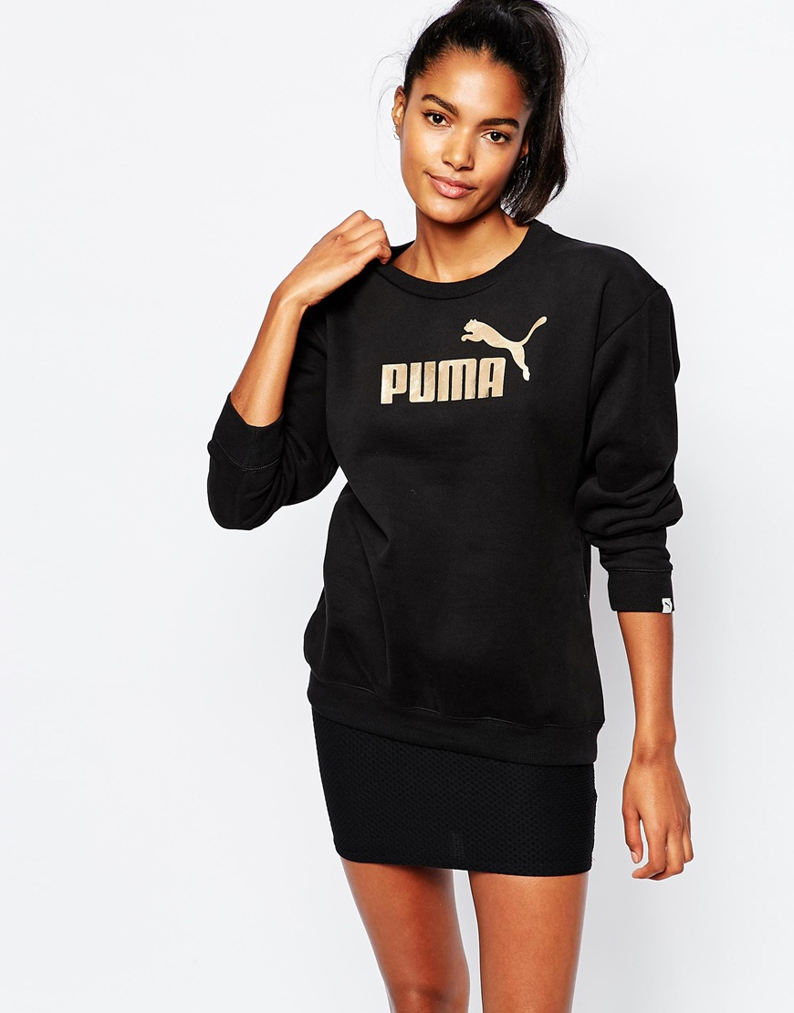 puma rose gold jumper