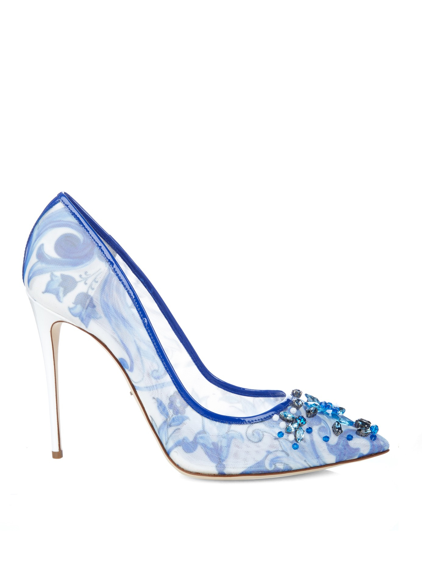 Dolce & Gabbana Floral Embellished Pumps pictures cheap price Manchester cheap online Rshk2isfk