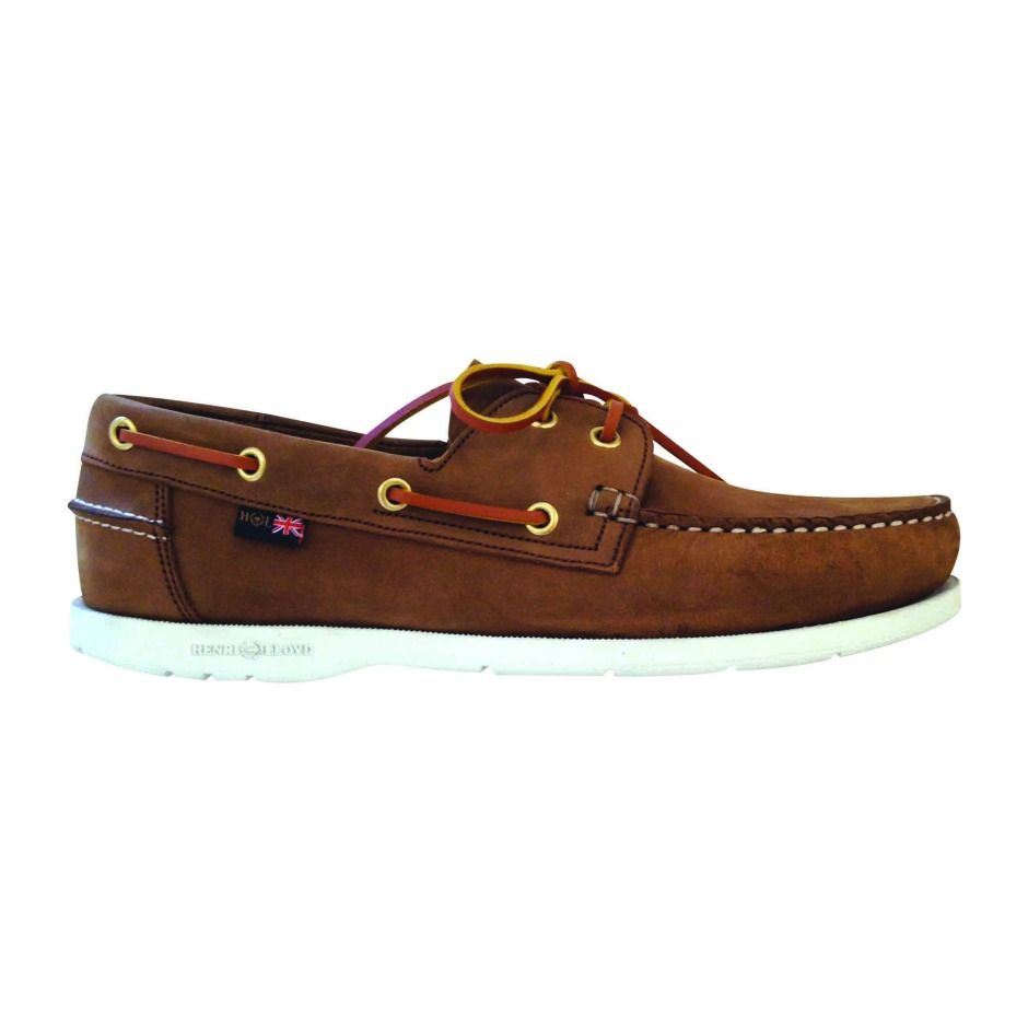 Henri Lloyd Lace Up Casual Moccasins In Blue For Men Lyst