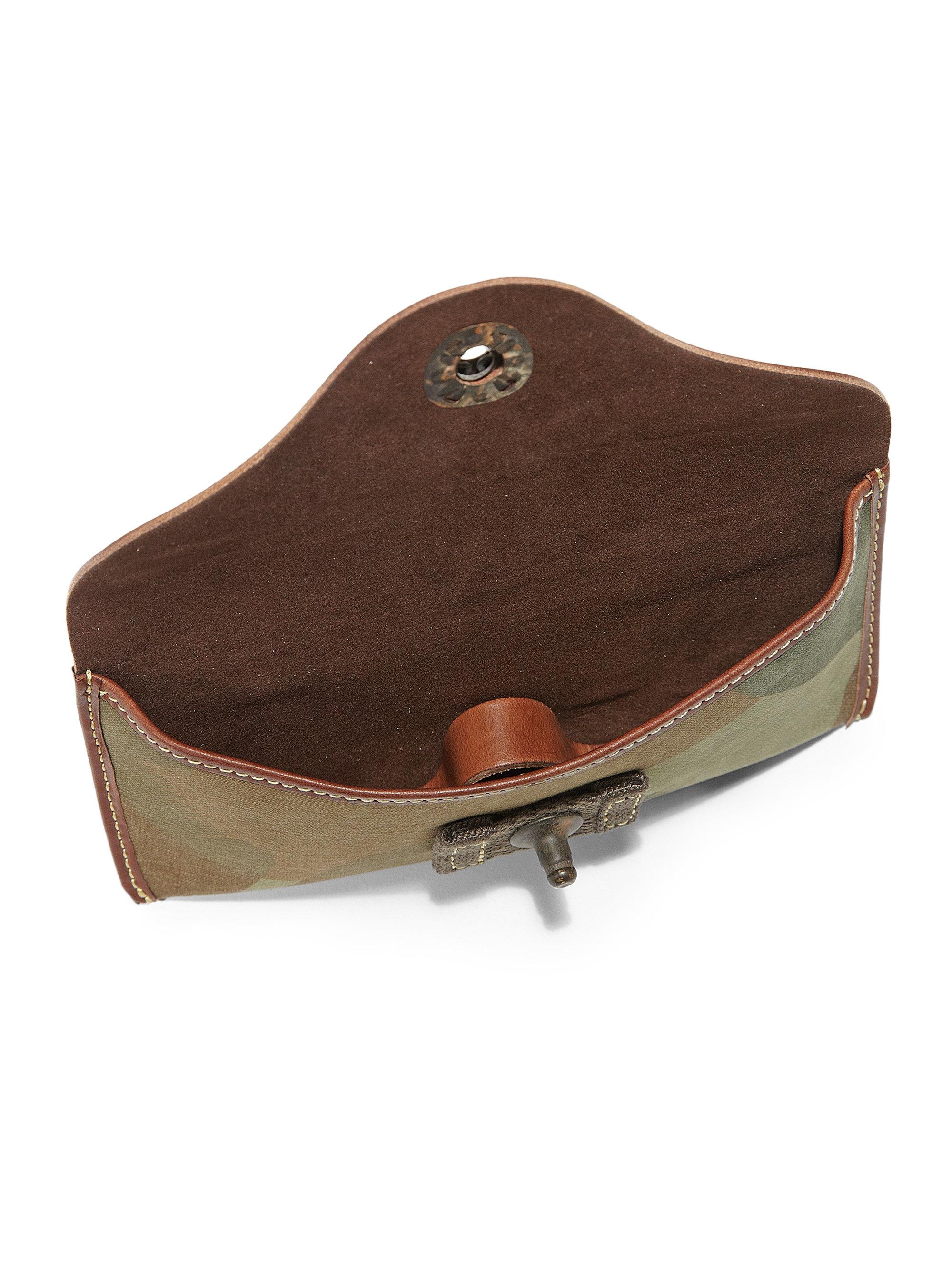 e93e8fbed661 Polo Ralph Lauren Camo Canvas Sunglass Case in Brown for Men - Lyst