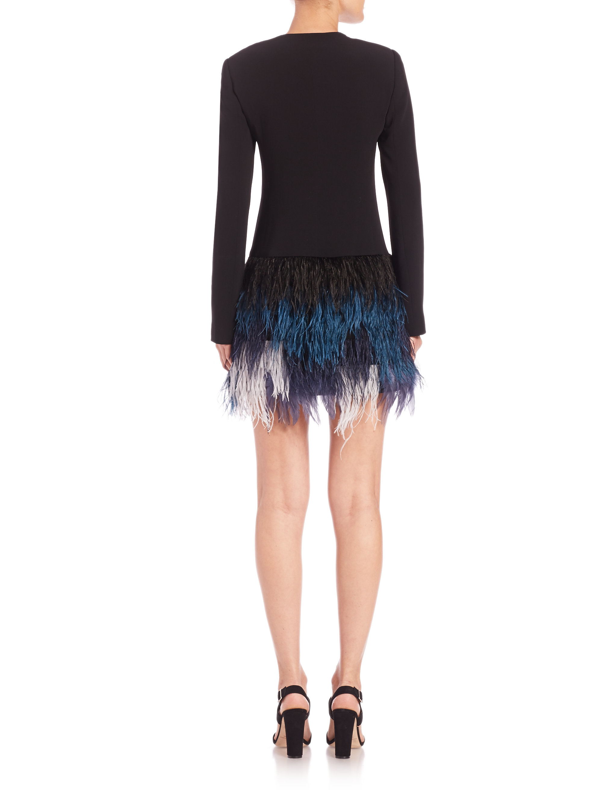 Elizabeth And James Feather Skirt 89