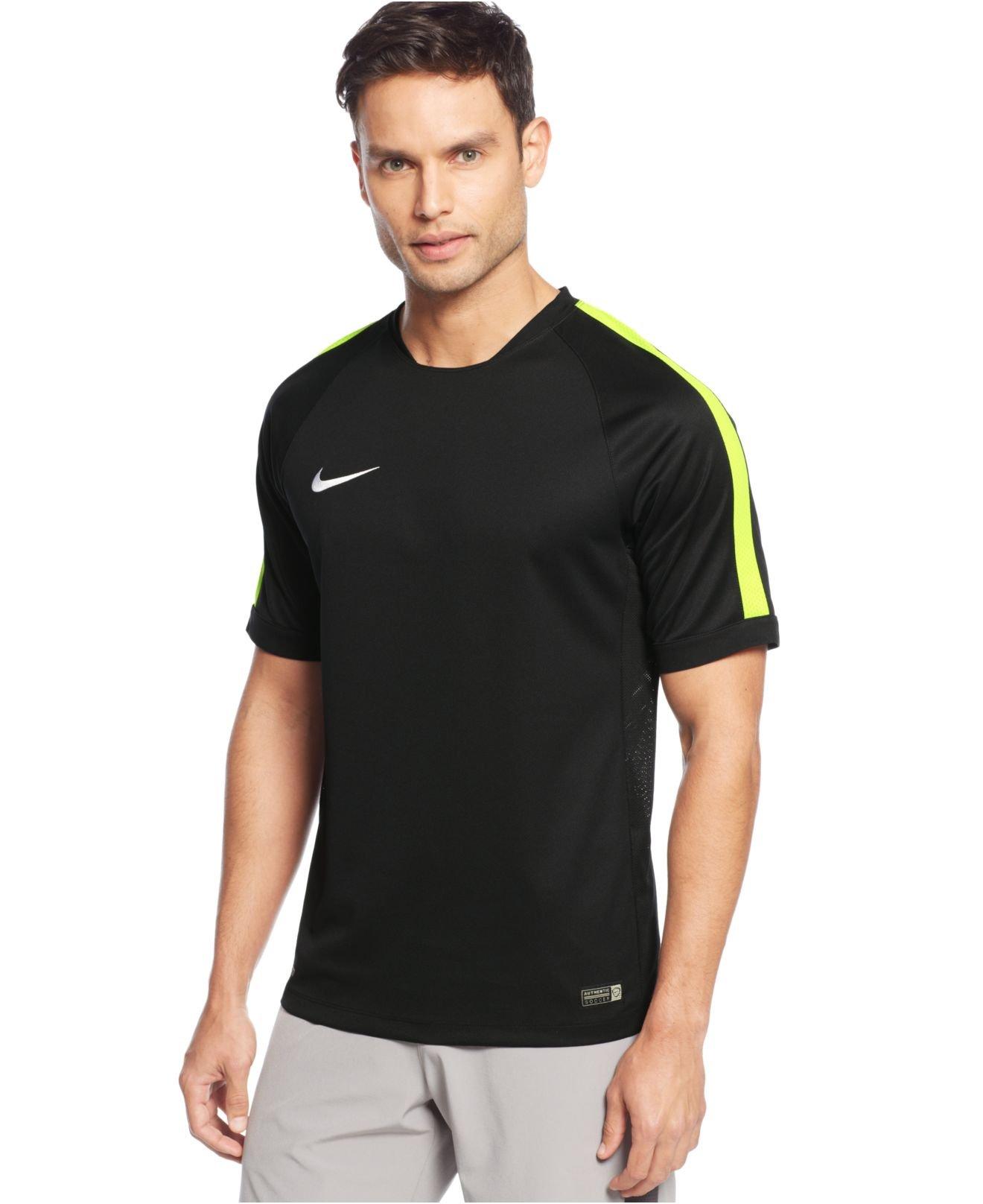 Shop Black Nike Dry Squad Prime T-Shirt for Mens by Nike | SSS
