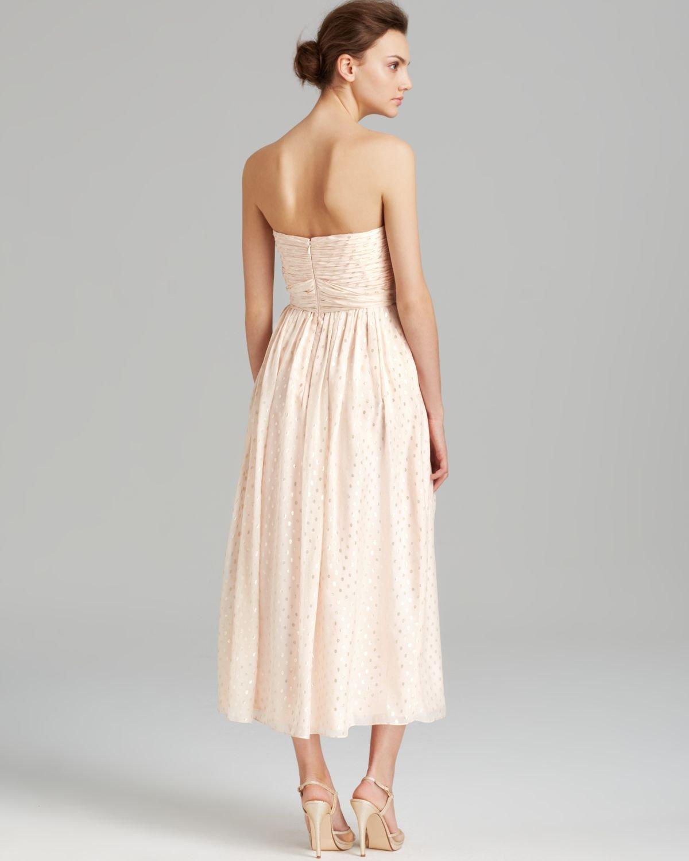 Strapless Beige Dress  Cocktail Dresses 2016