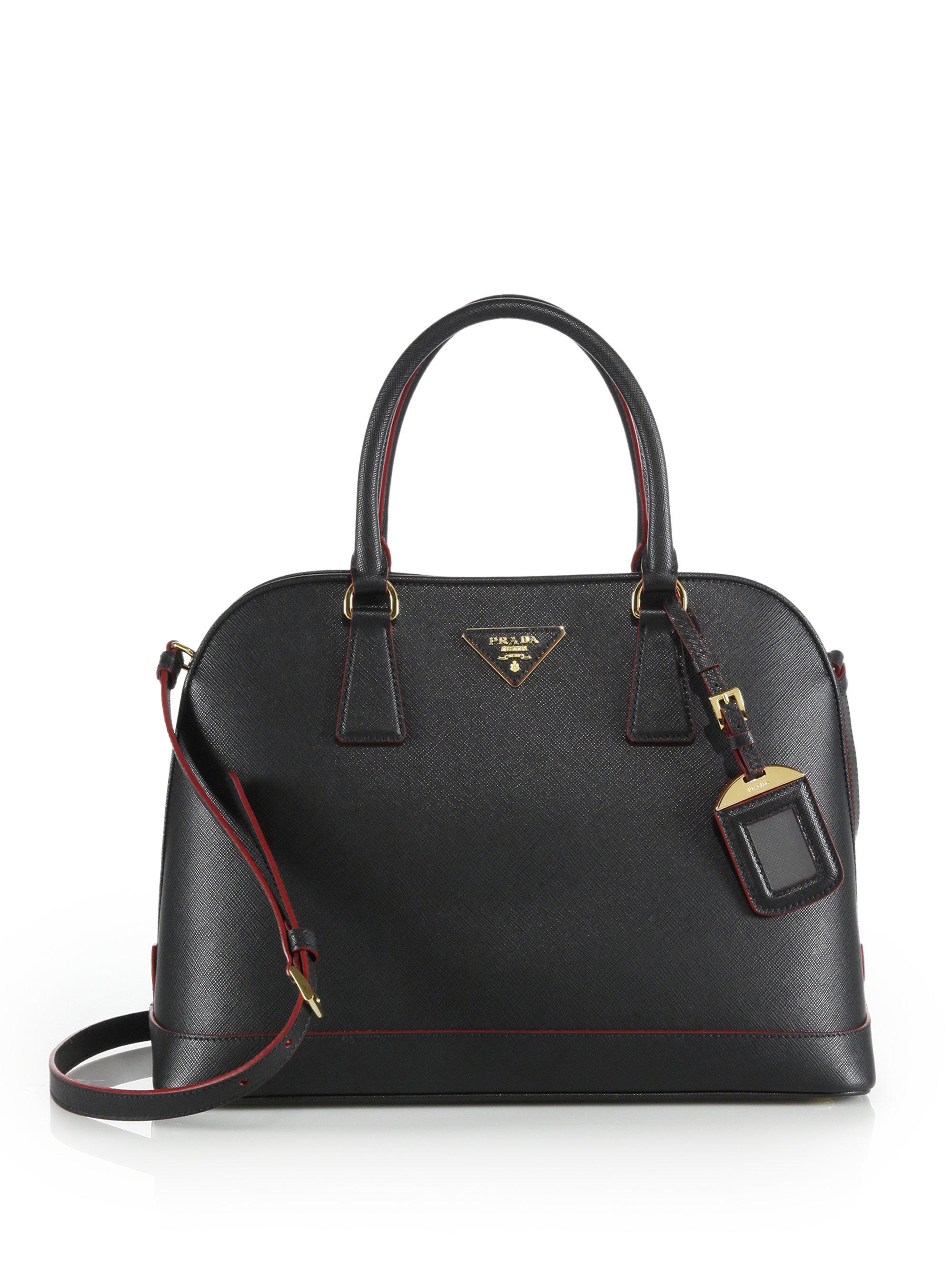 Prada Leather Satchel Prada Multicolor Handbag