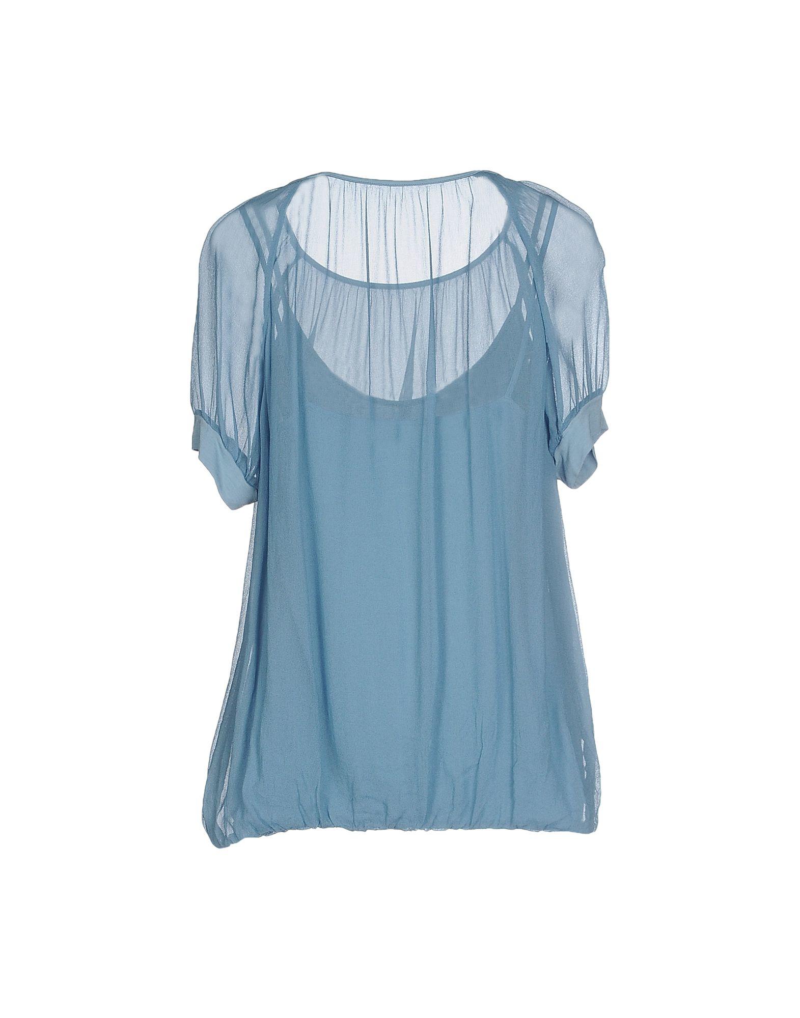 Бирюзовая Блузка Купить