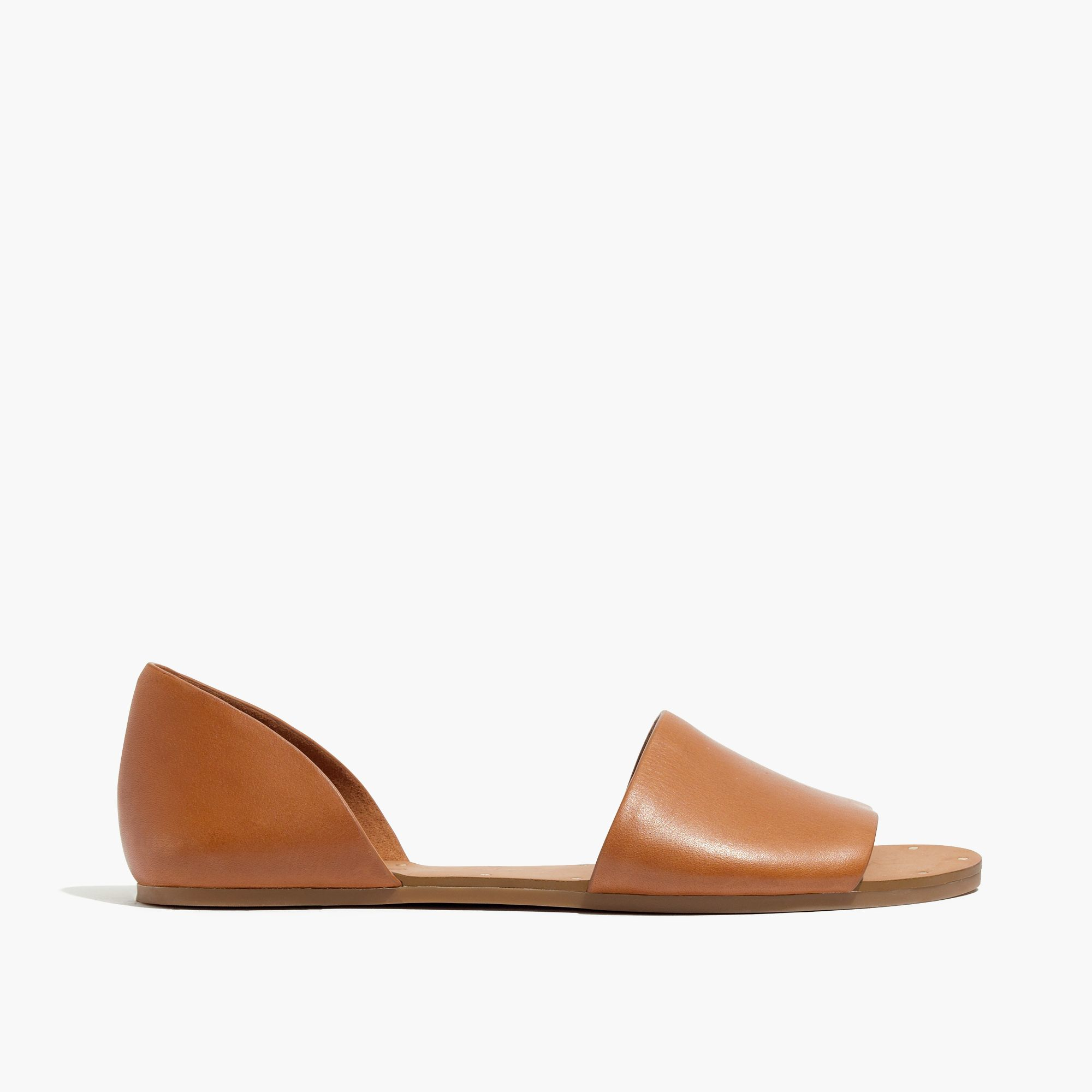 a0c3f2bf1da1b Madewell The Thea Sandal In Leather in Natural - Lyst
