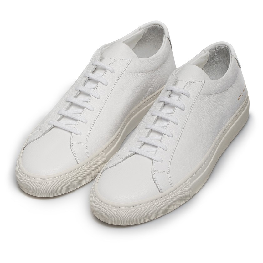 common projects achilles limited edition low top sneakers in white for men lyst. Black Bedroom Furniture Sets. Home Design Ideas